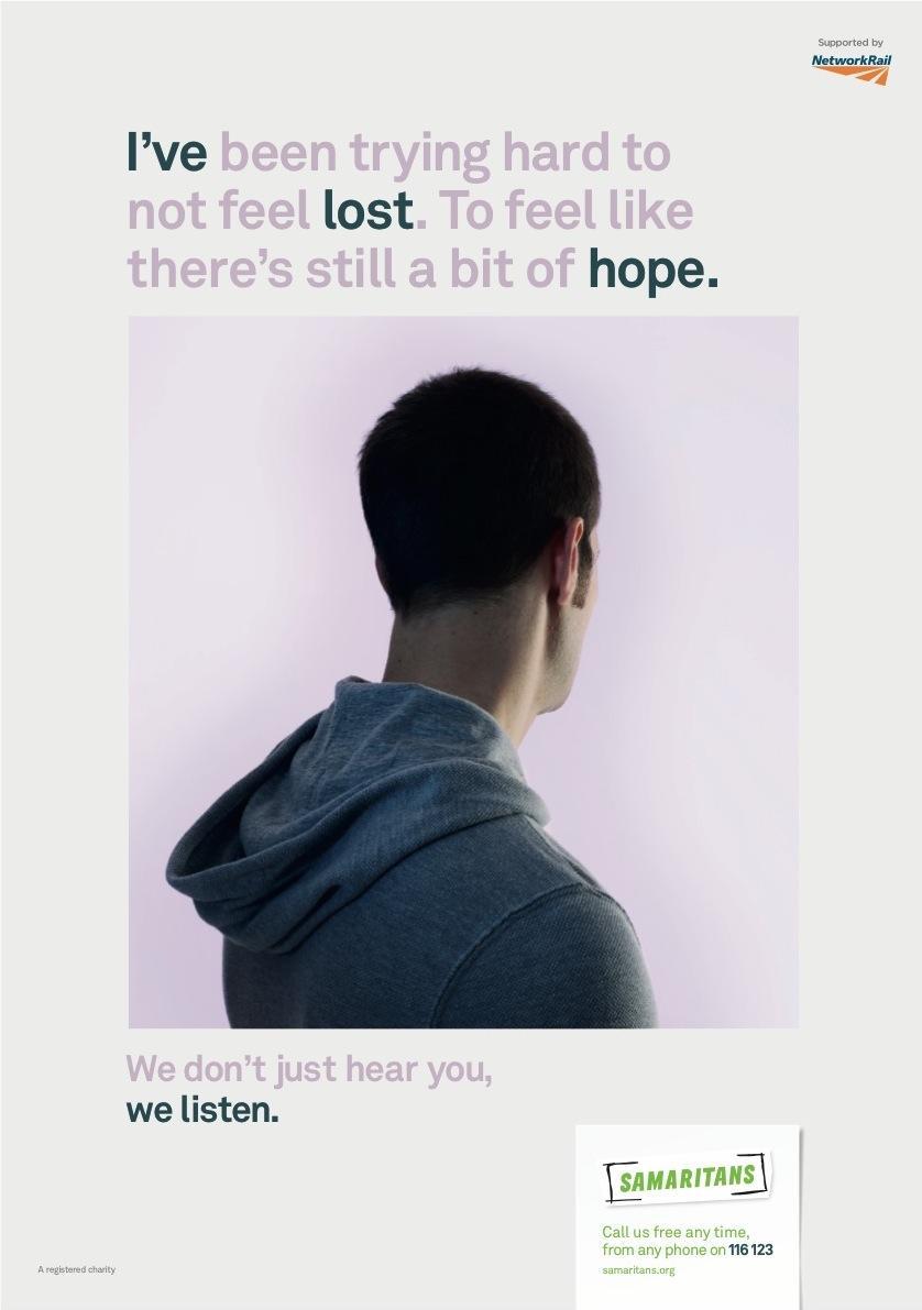 Samaritans Print Ad -  Lost