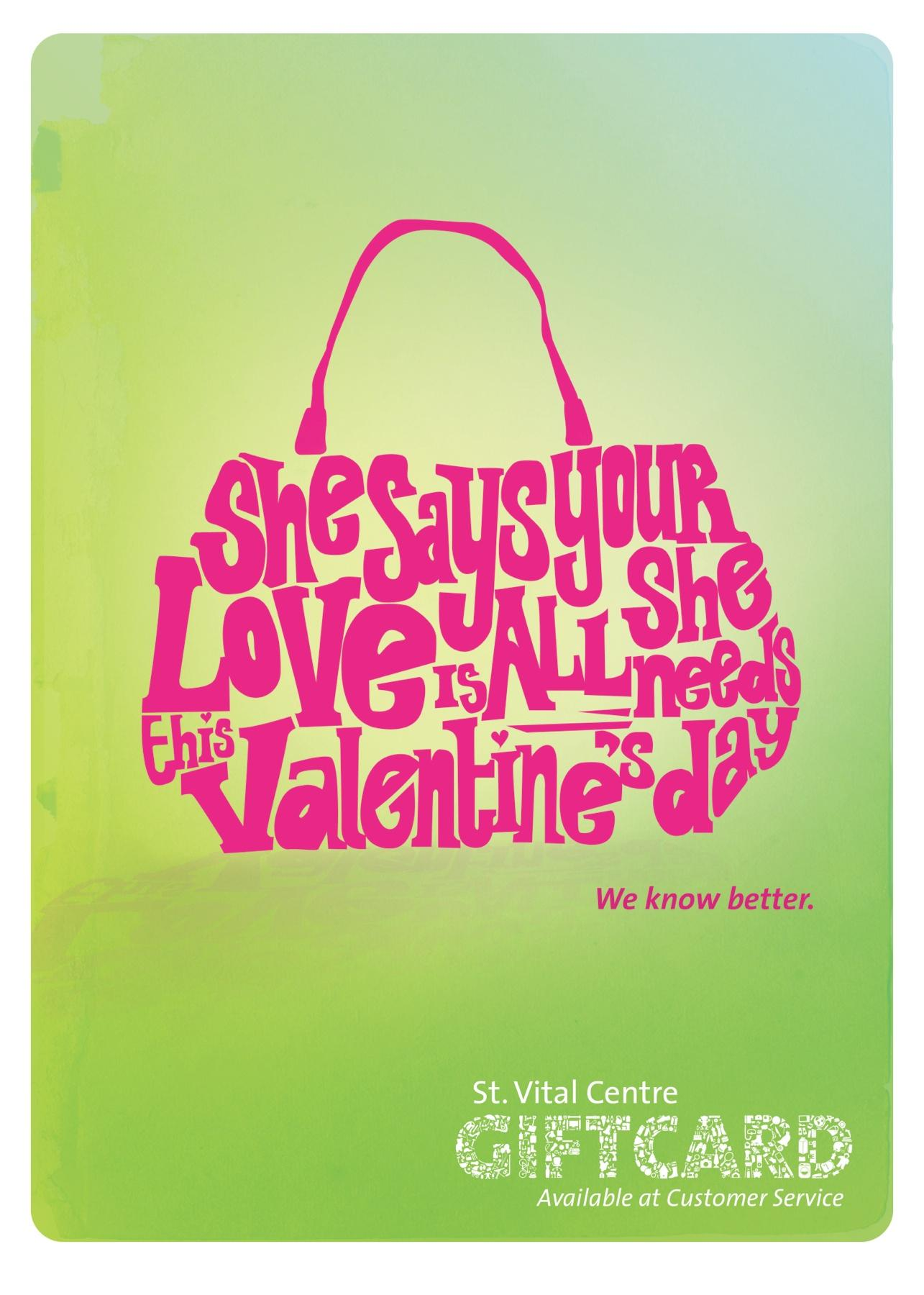 St. Vital Centre Outdoor Ad -  Giftcard Posters, Purse