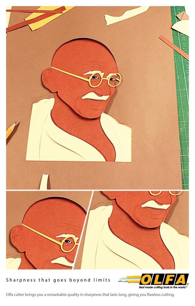 Olfa Print Ad - Sharpness, 3