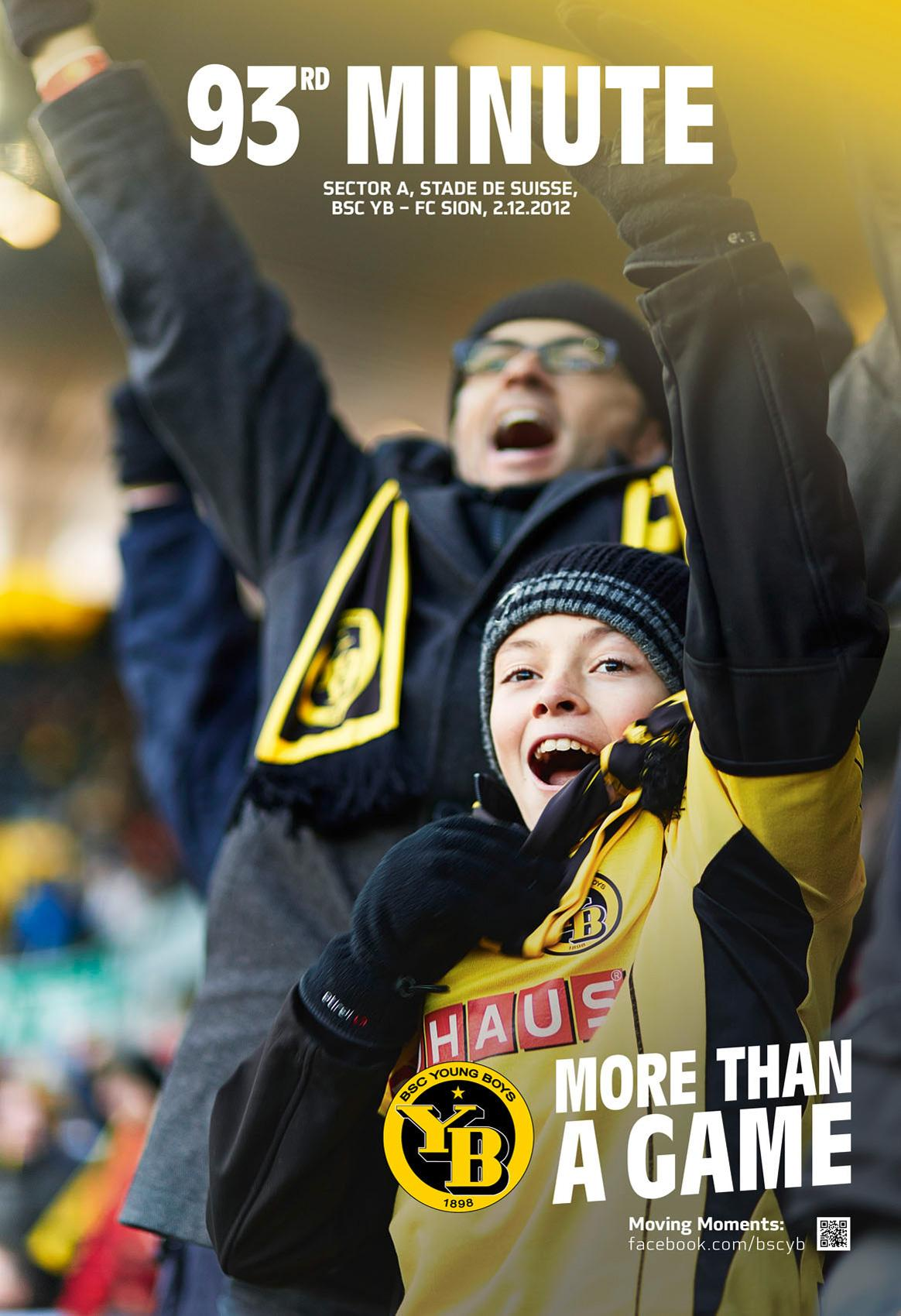 BSC Young Boys Print Ad -  More than a game, 2