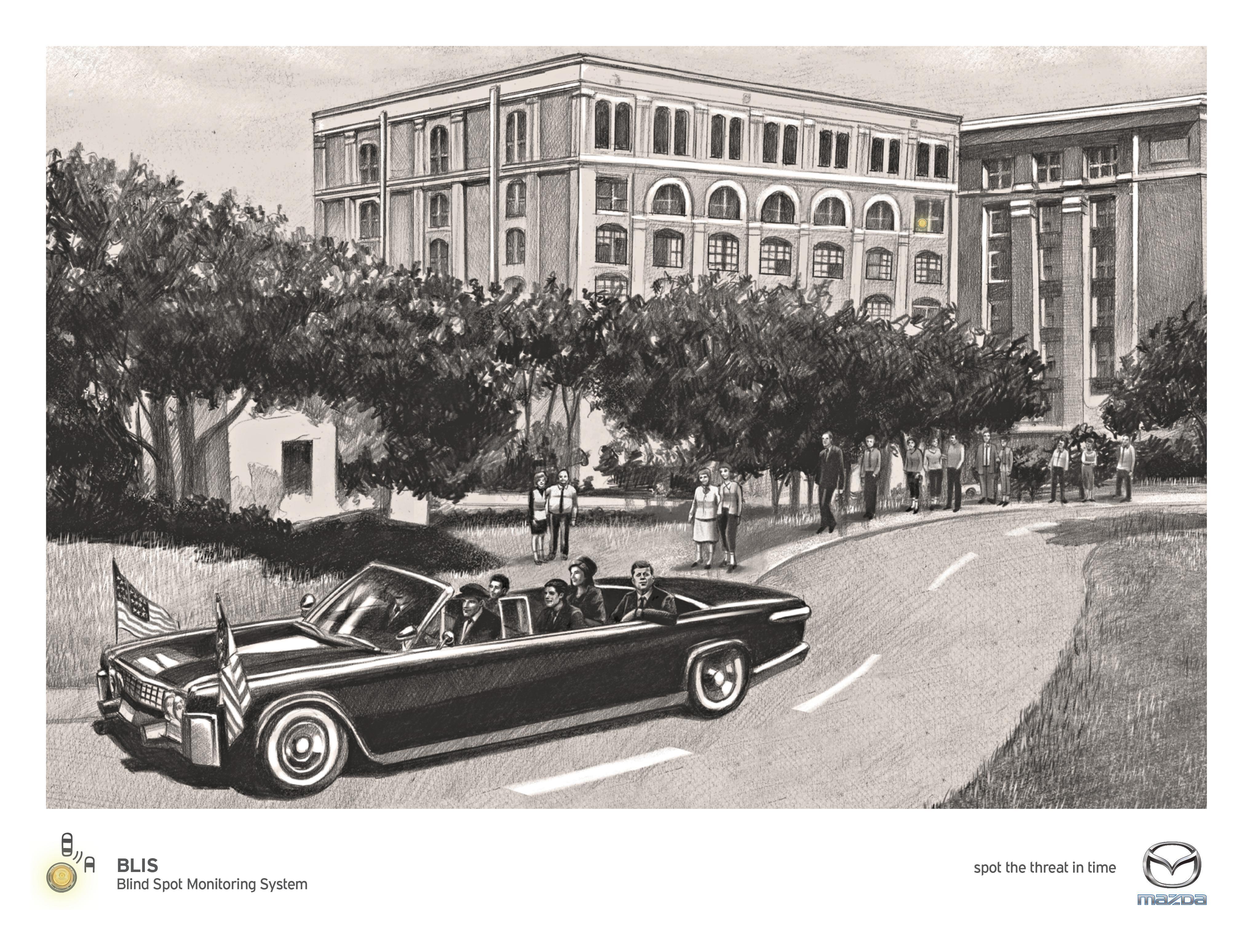 Mazda Print Ad - Kennedy