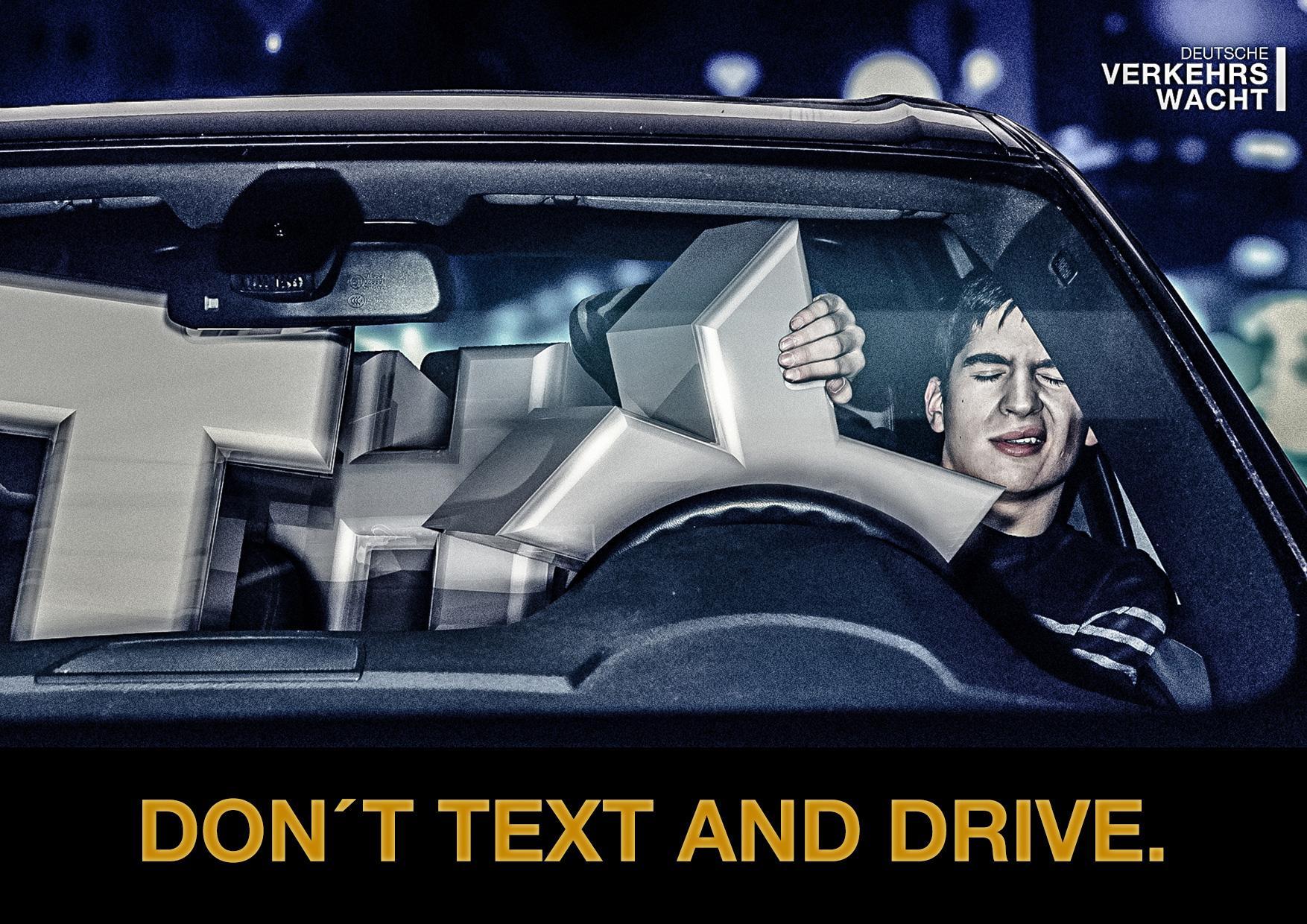 Deutsche Verkehrswacht Print Ad -  Driver, 1