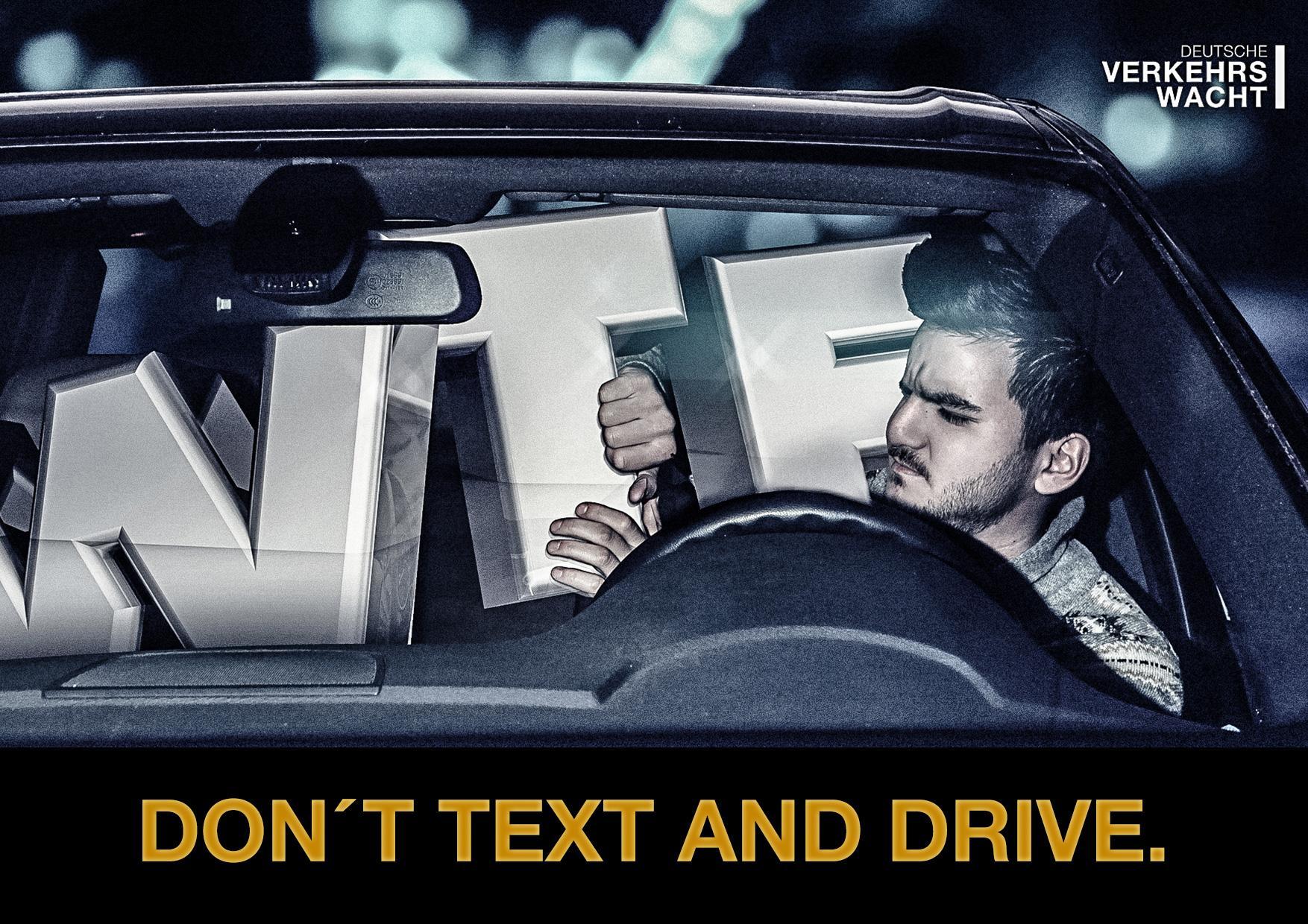 Deutsche Verkehrswacht Print Ad -  Driver, 3