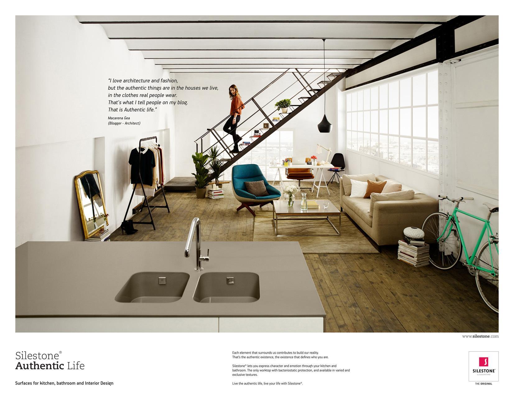 Silestone Print Ad -  Silestone Authentic Life, 4