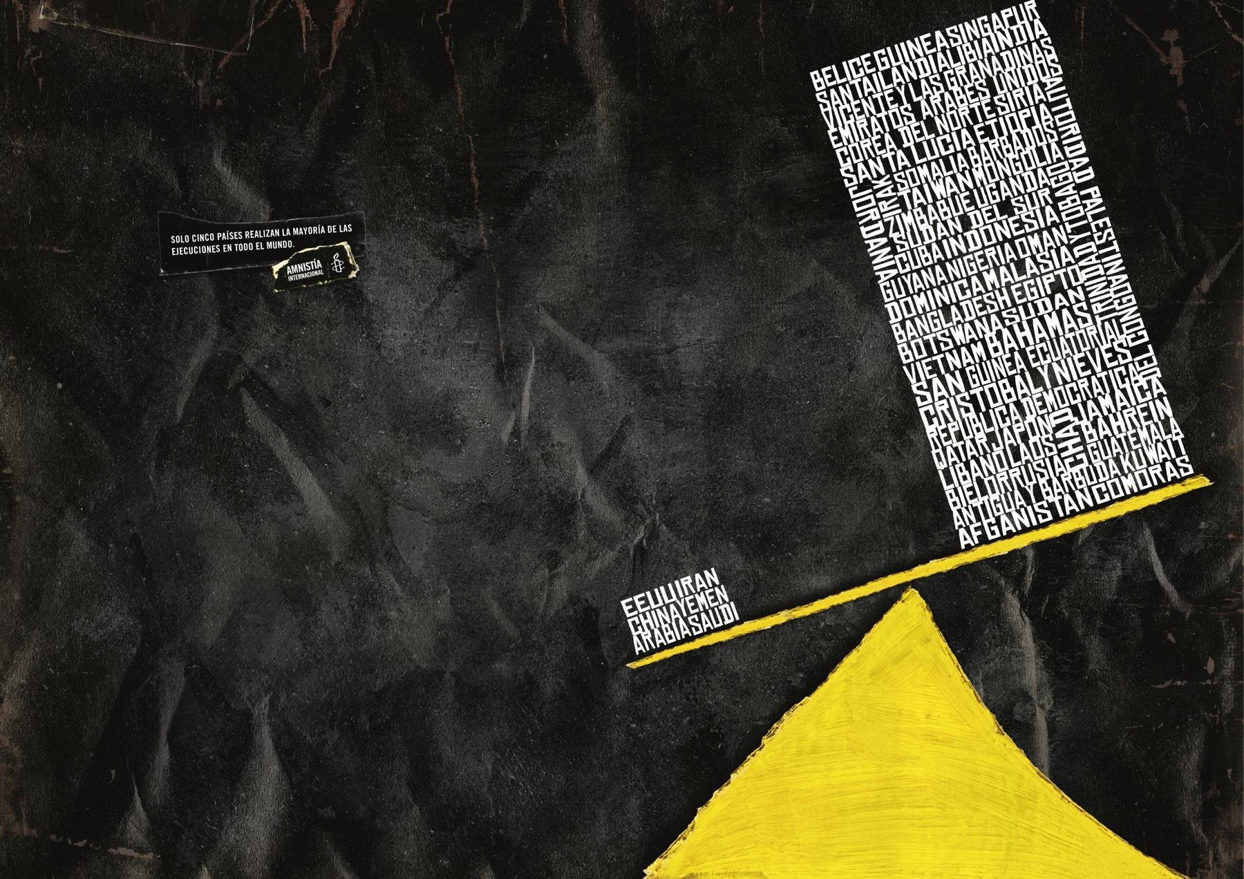 Amnesty International Print Ad -  Countries, 1