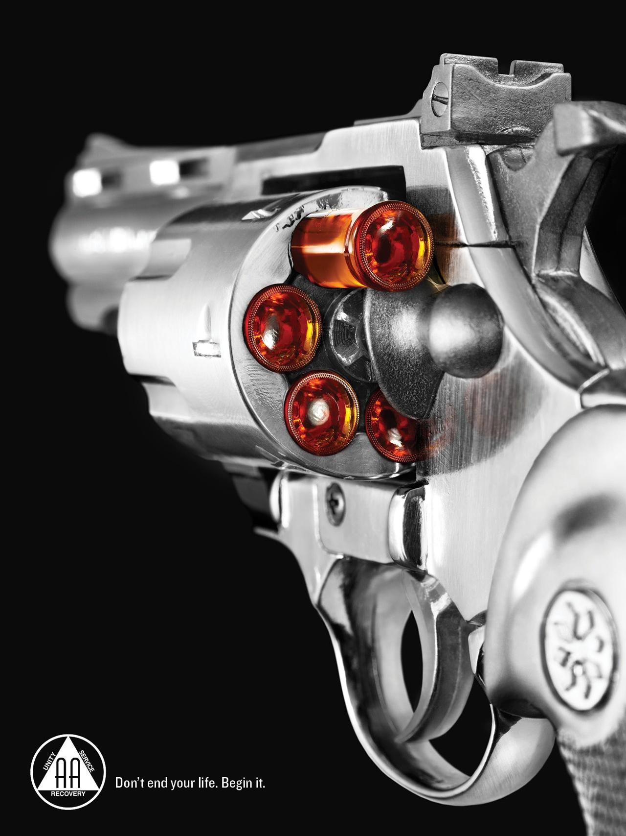 AA Print Ad -  Gun