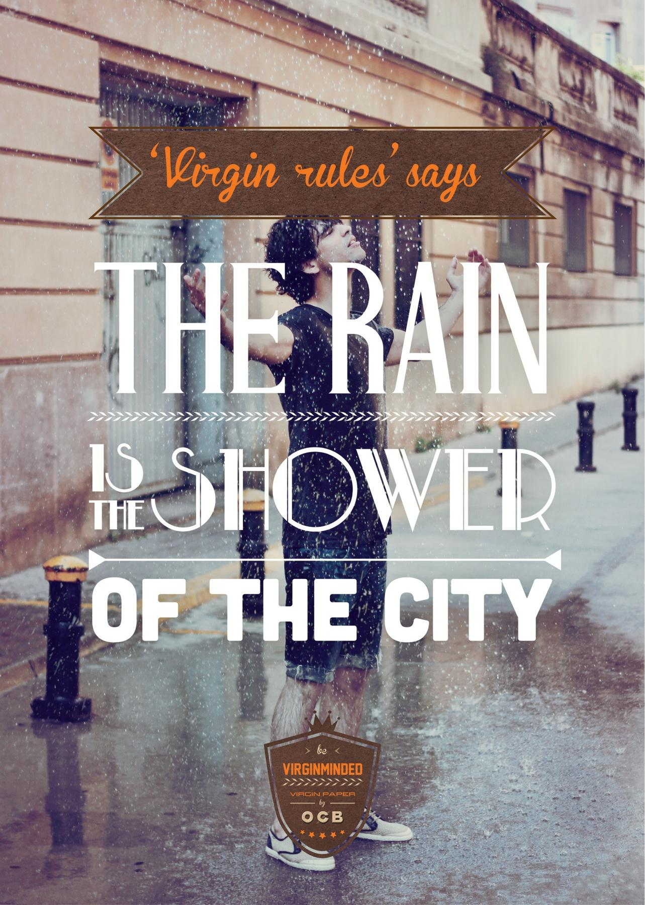OCB Print Ad -  Virginminded, The rain