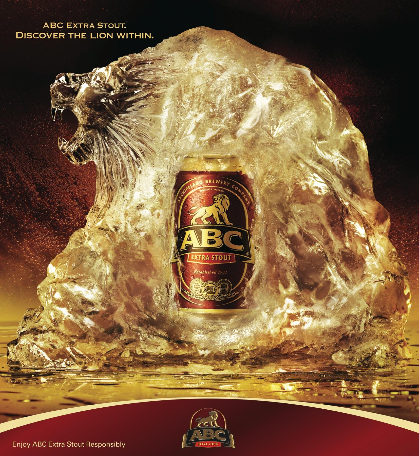 ABC Extra Stout Print Ad -  Discover