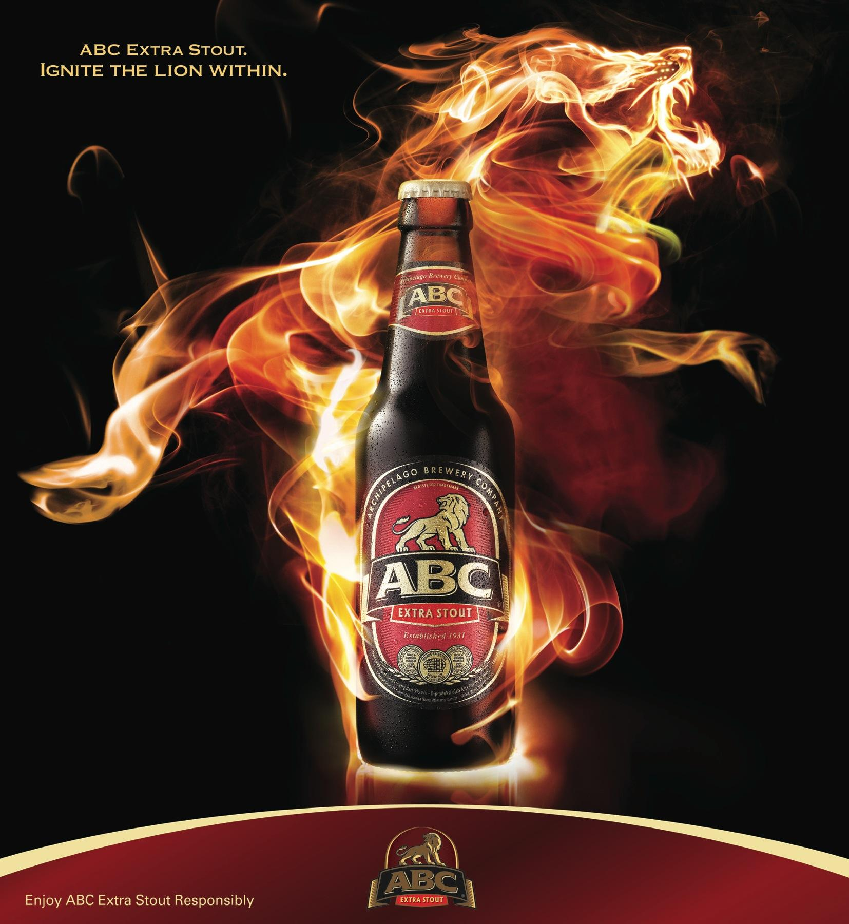 ABC Extra Stout Print Ad -  Ignite