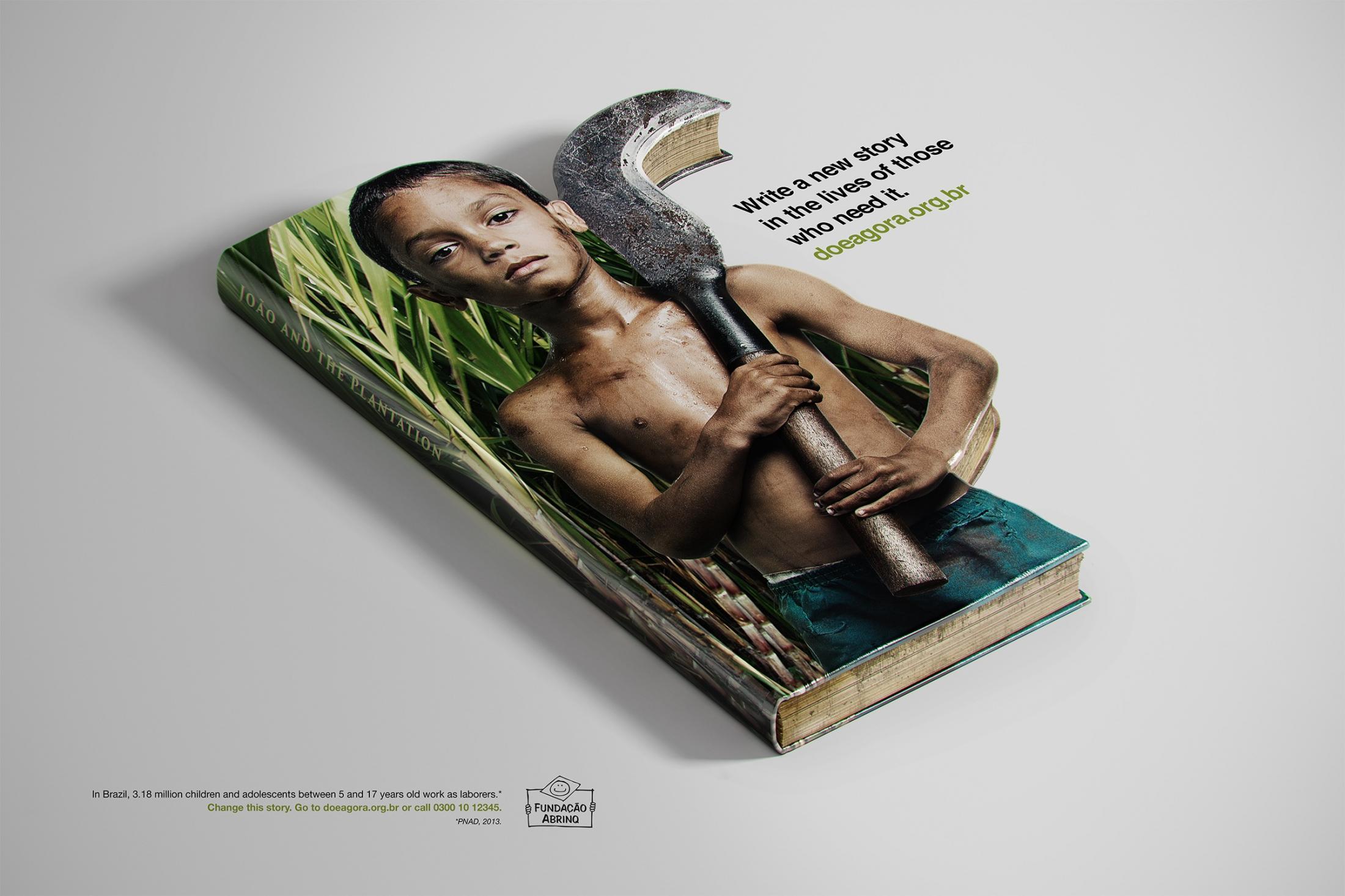 Abrinq Foundation Print Ad -  João