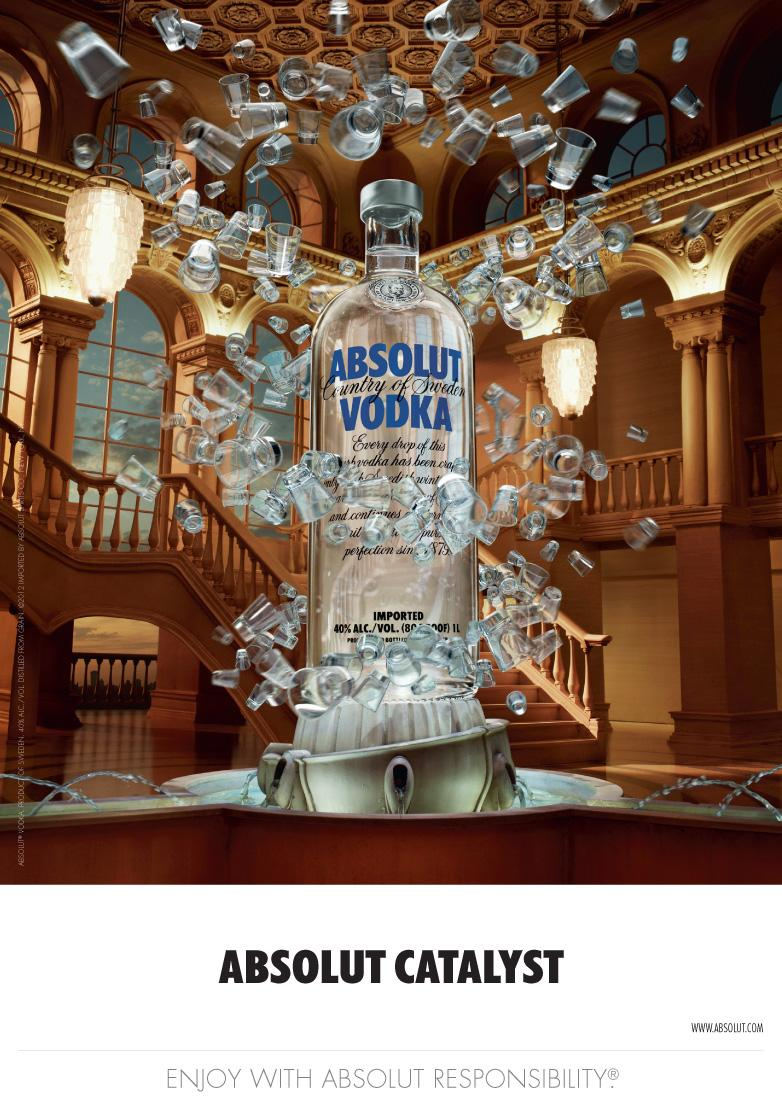 Absolut Print Ad -  Catalyst