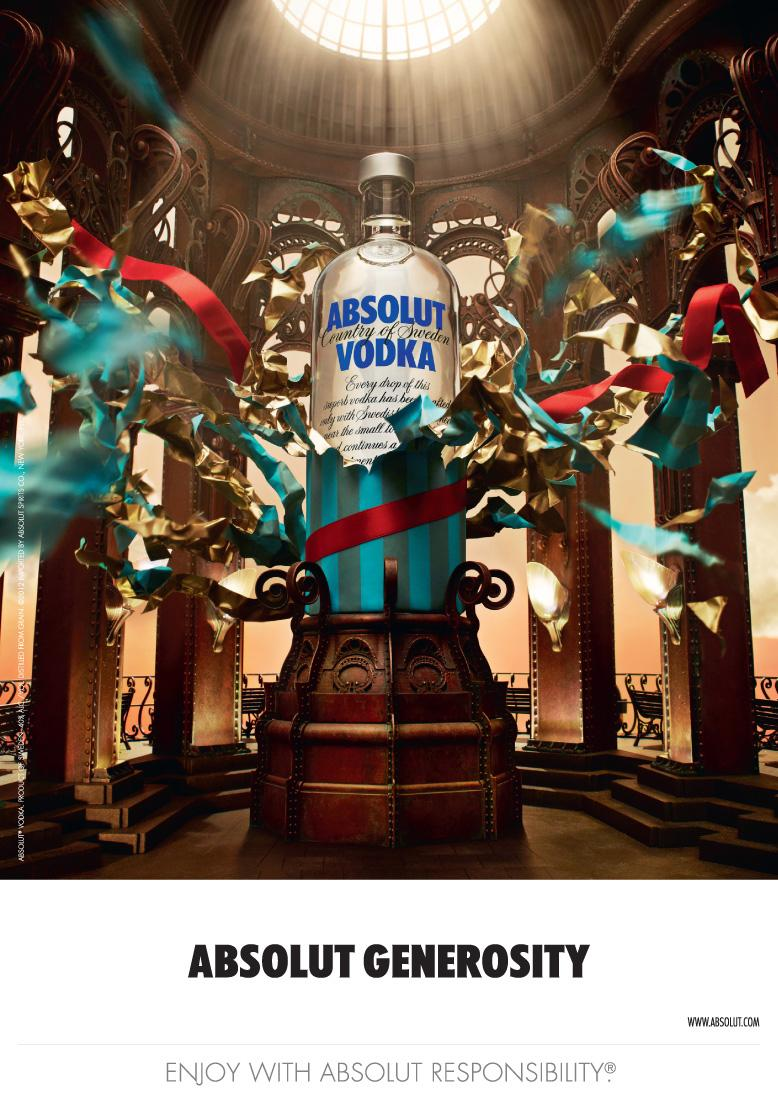 Absolut Print Ad -  Generosity