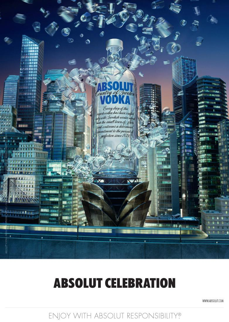 Absolut Print Ad -  Celebration