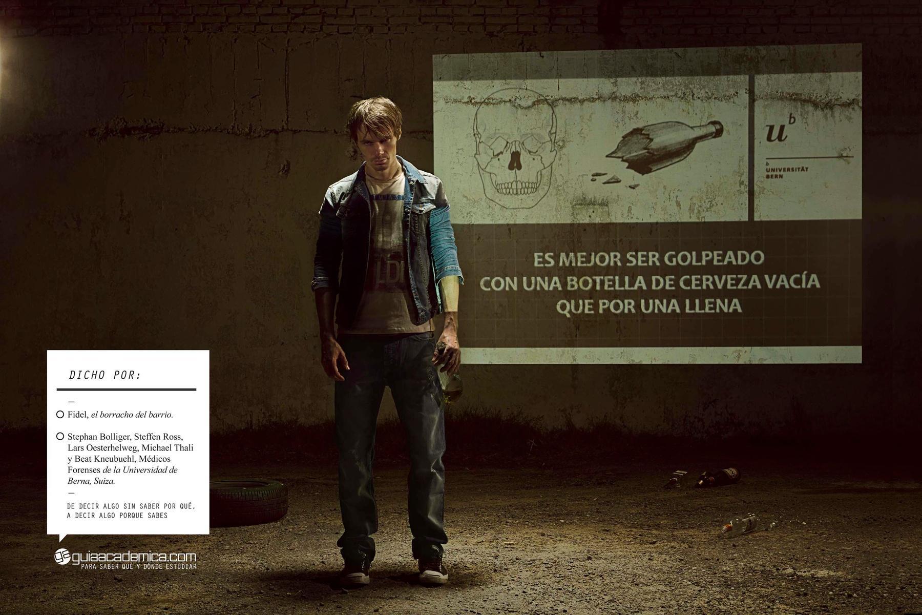 Guia Academica Print Ad -  Drunk