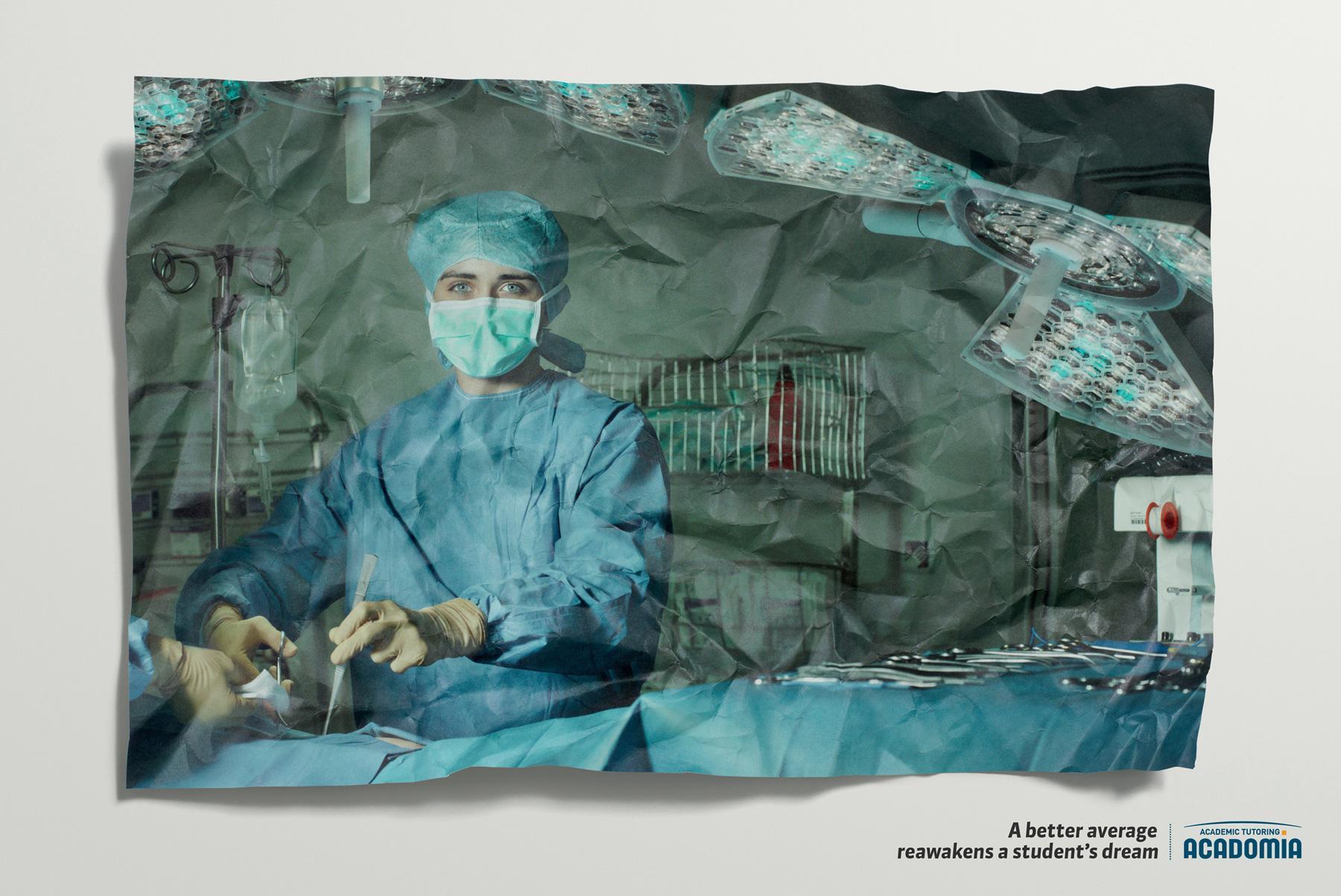 Acadomia Print Ad -  Surgeon