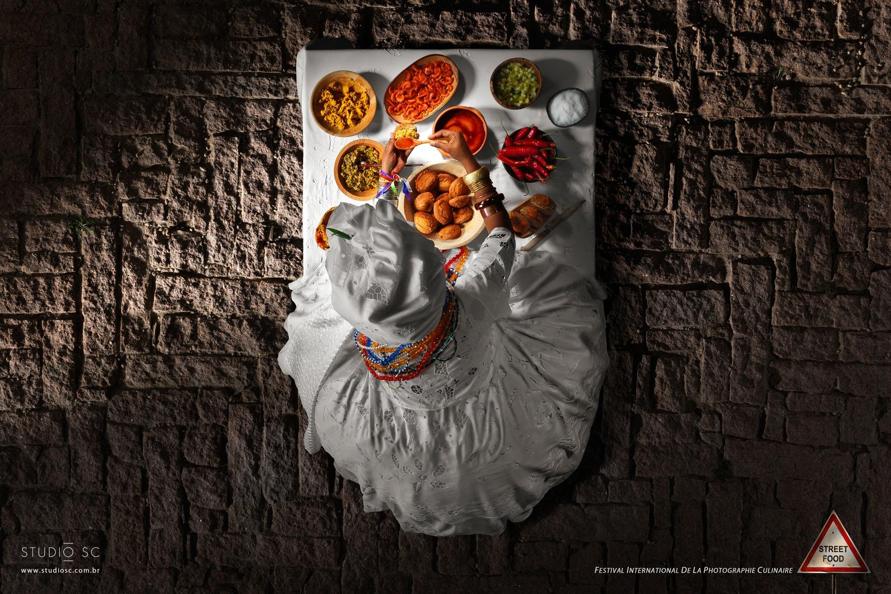 Festival International de la Photographie Culinaire Print Ad -  Street Food, 1