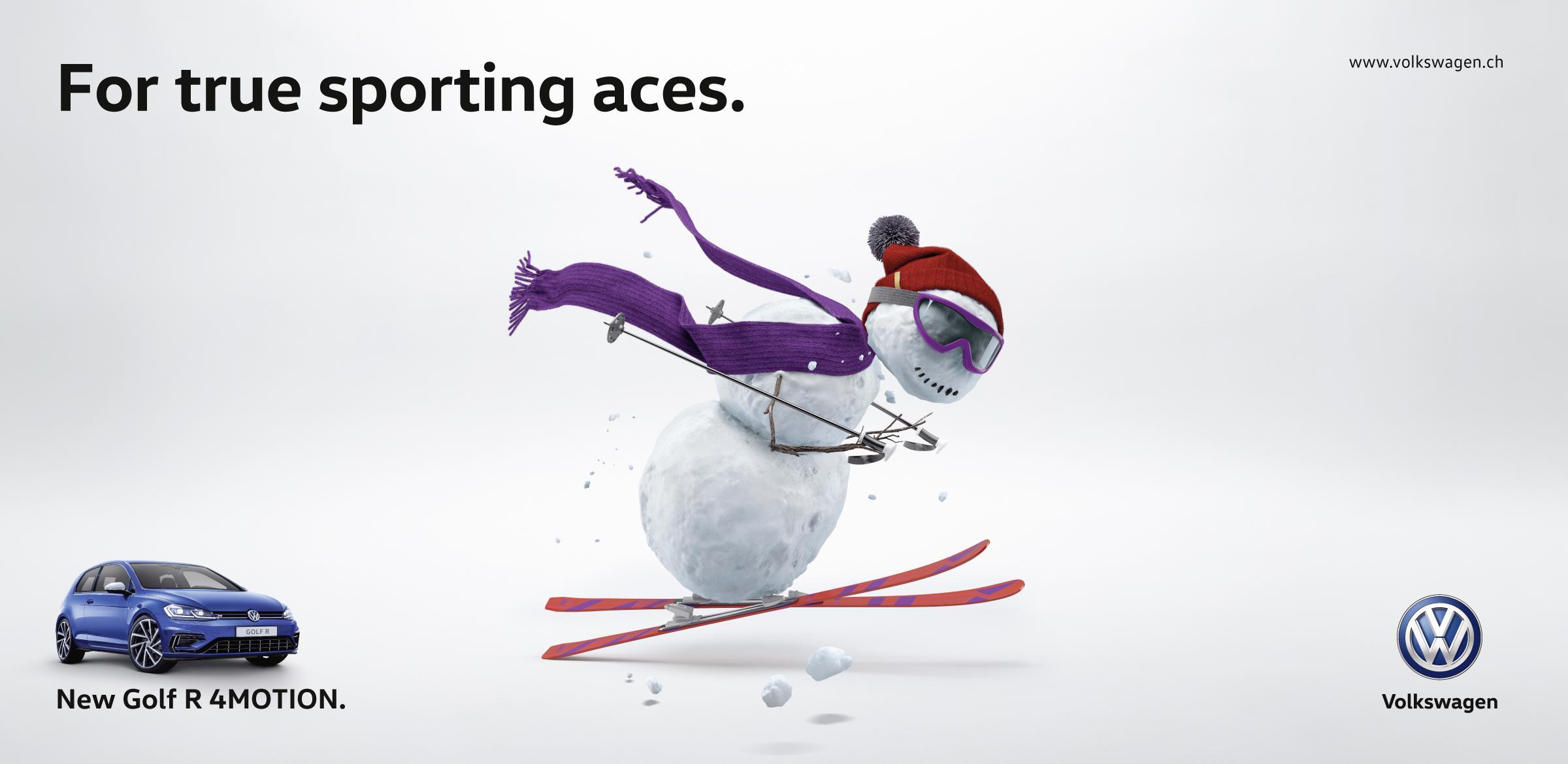 Volkswagen Outdoor Ad - Sporting Ace