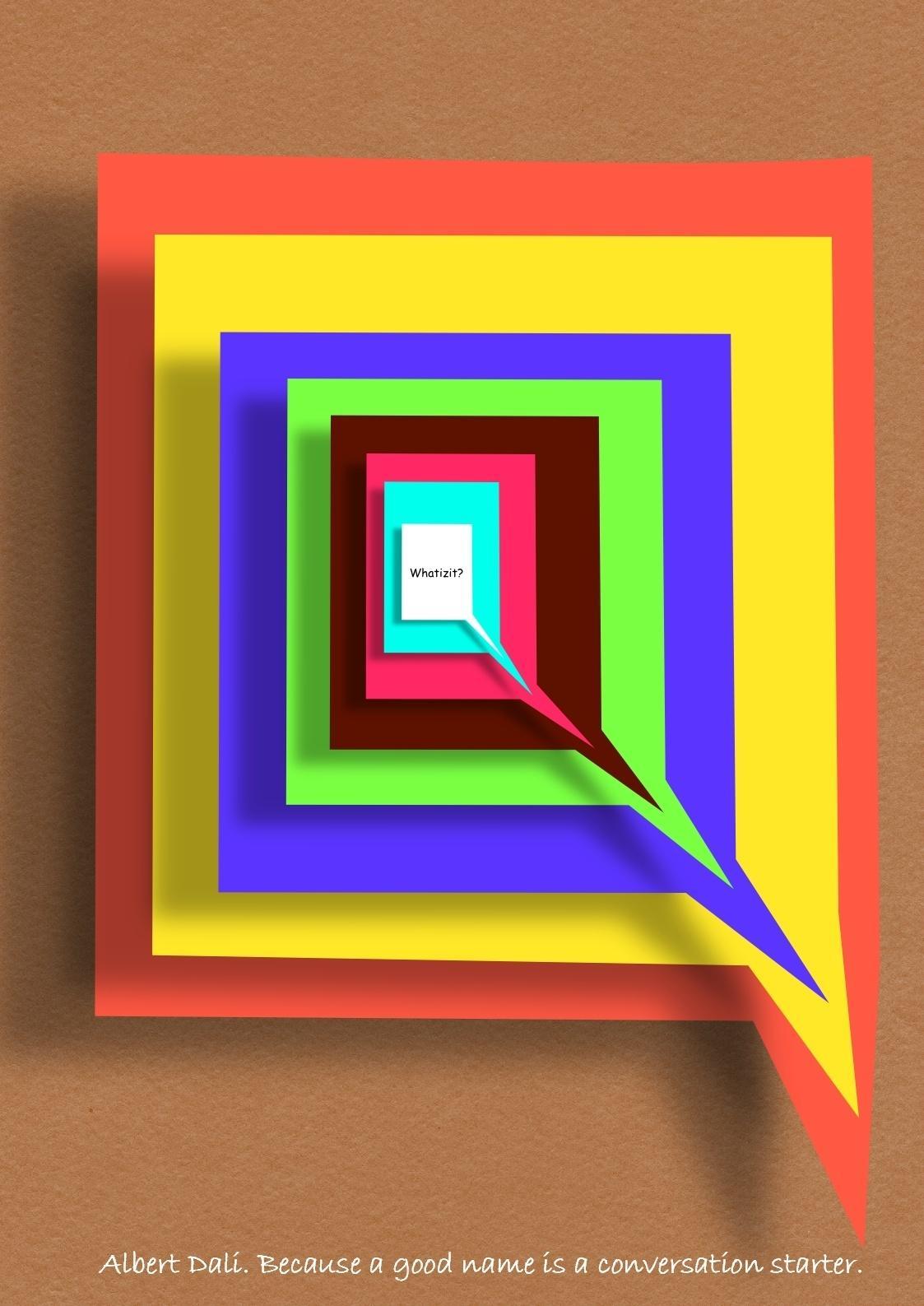 Albert Dali Print Ad -  Conversation Starters, 3