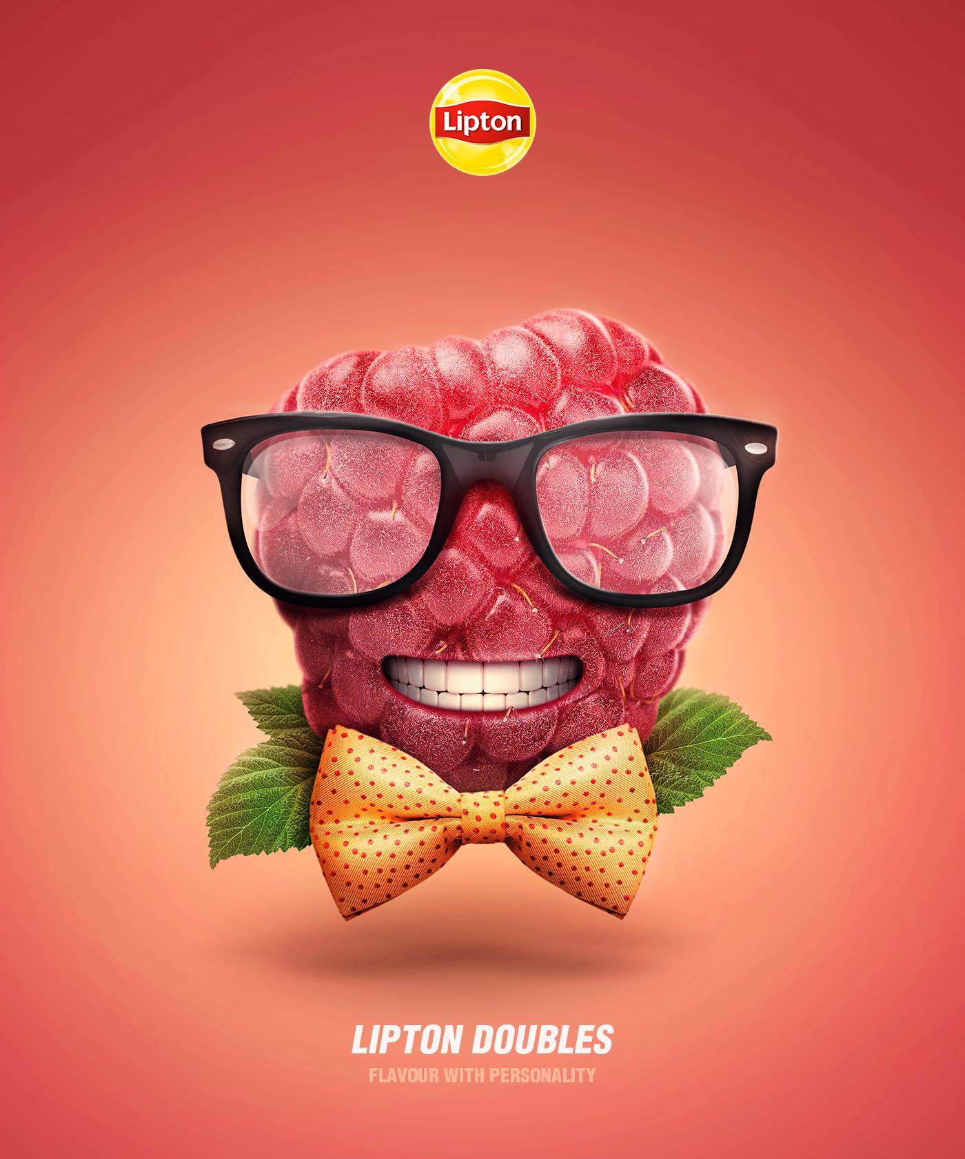 Lipton Print Ad - Lipton Doubles, 2