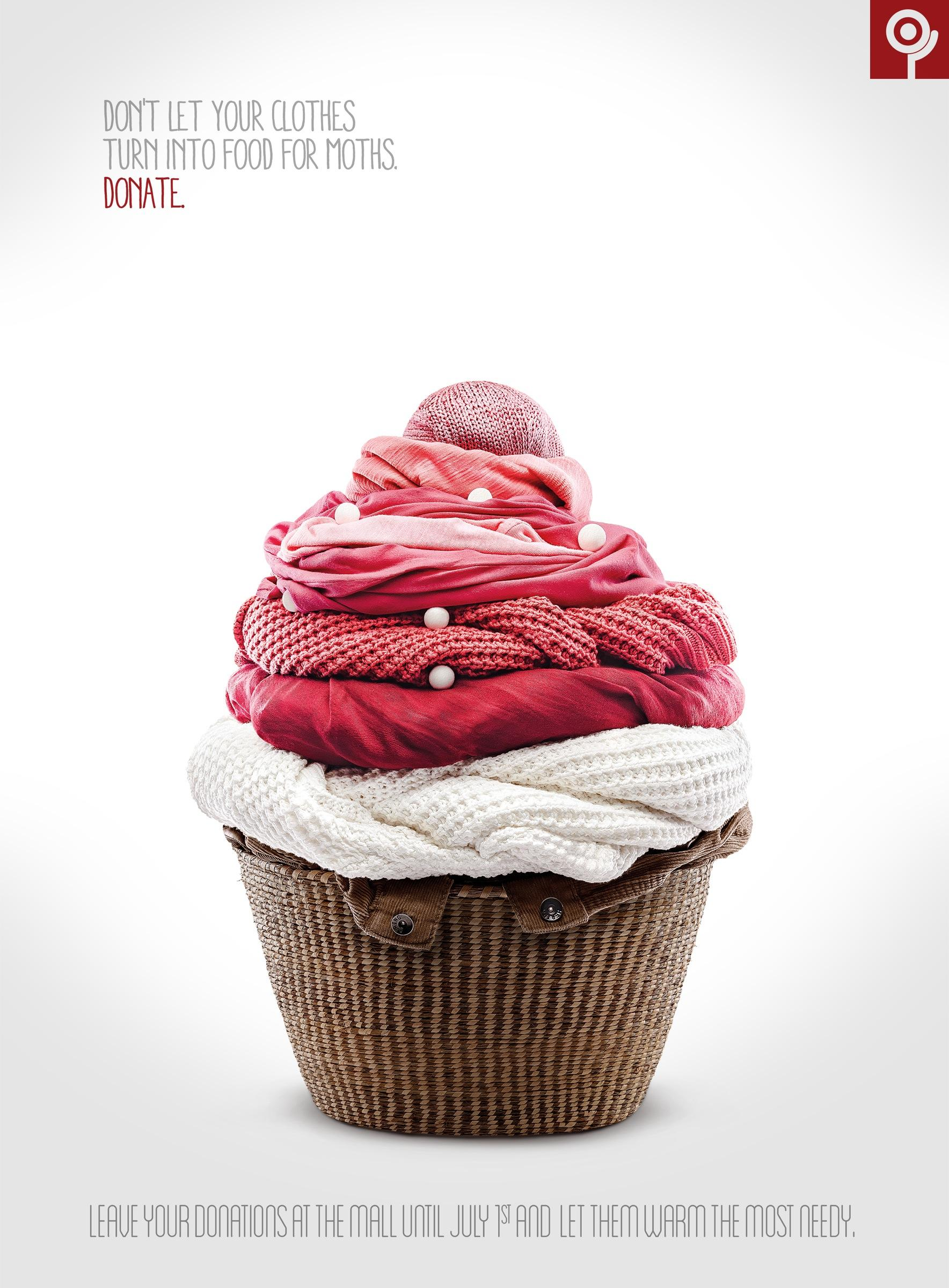 Shopping Itaguaçu Print Ad -  Cupcake