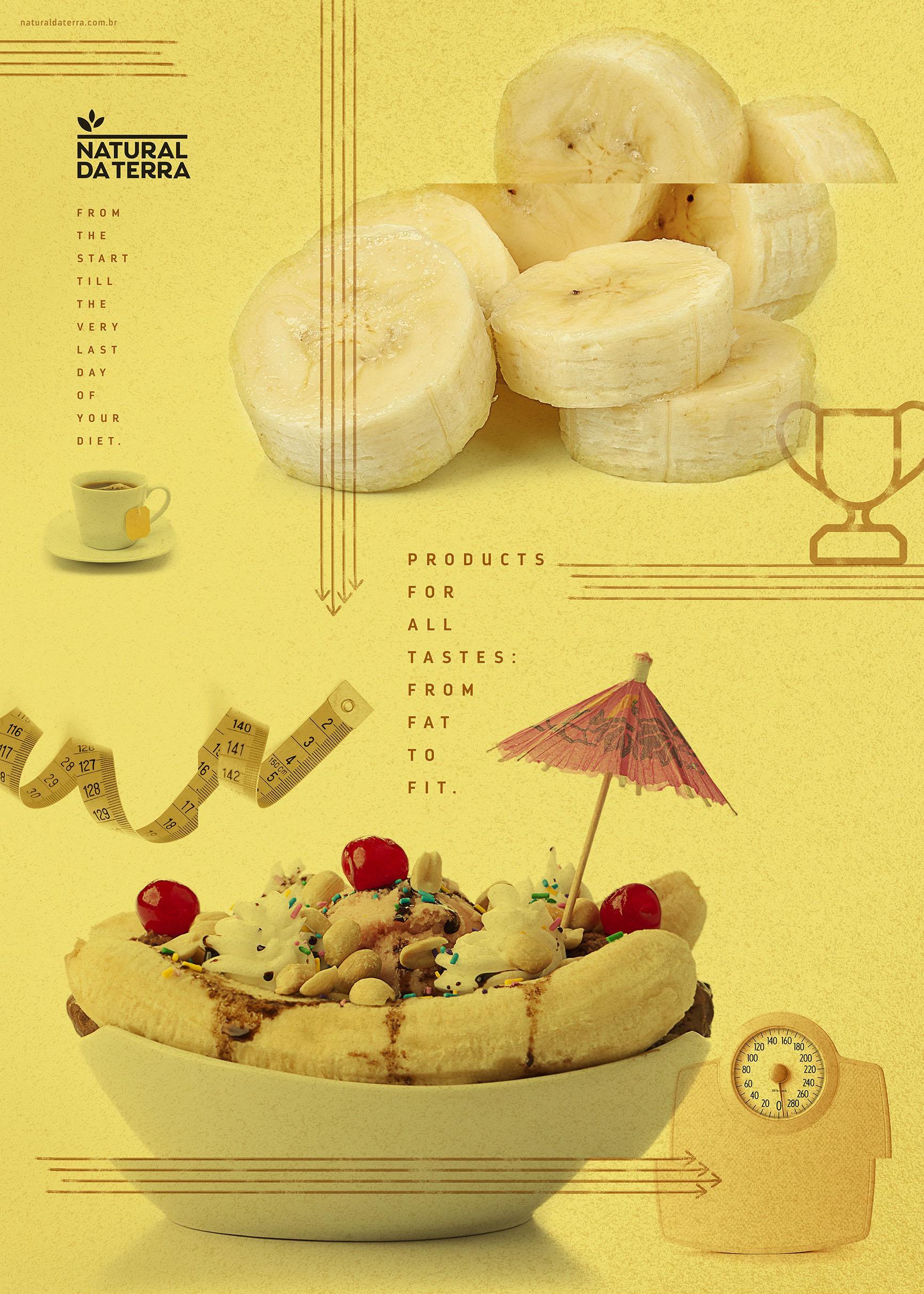 Natural da Terra Print Ad - Diet - Banana