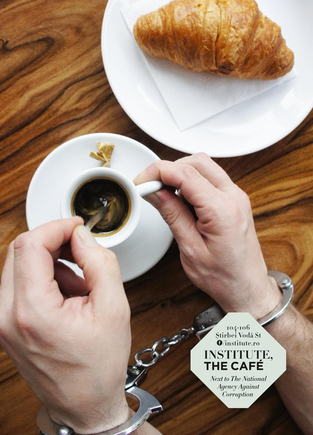 institute.ro Print Ad -  The handcuffs