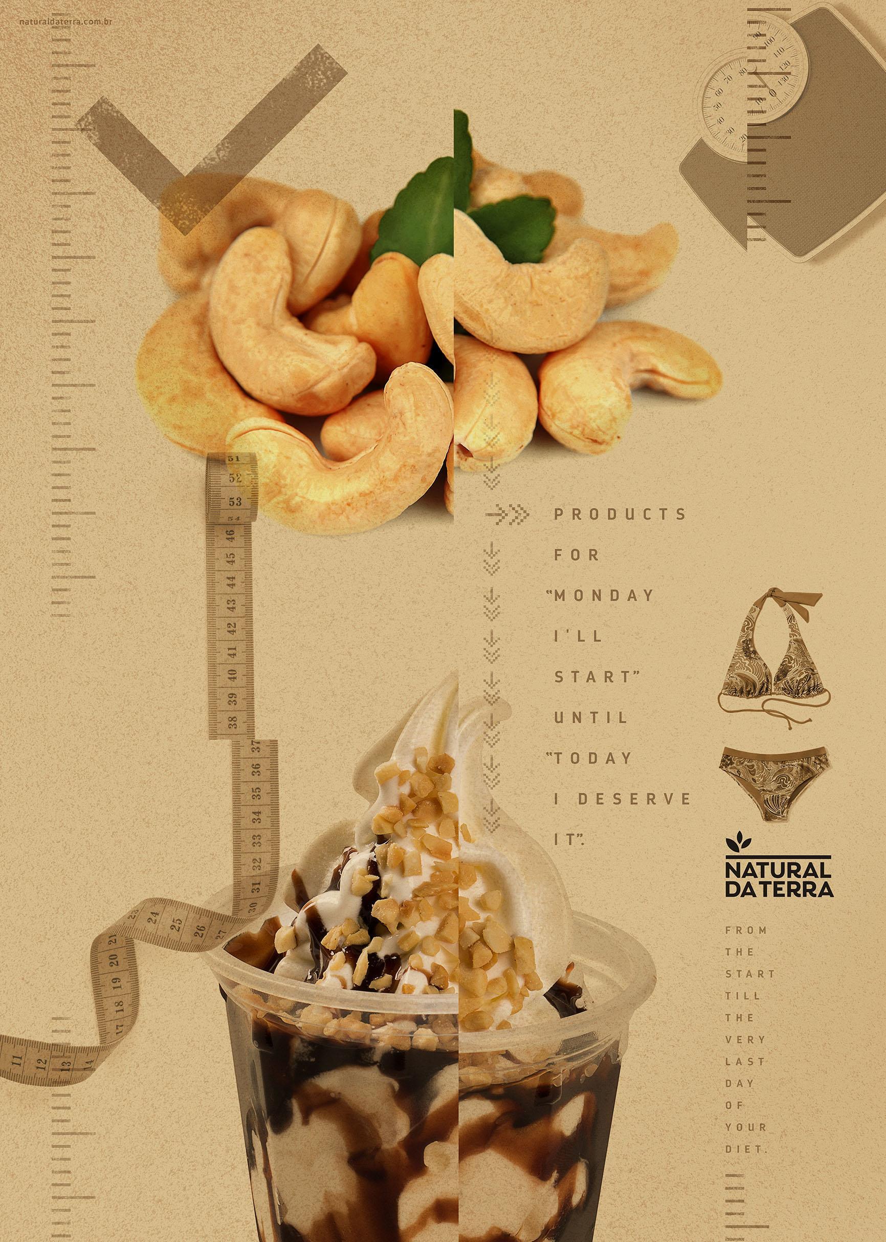 Natural da Terra Print Ad - Diet - Cashew Nuts