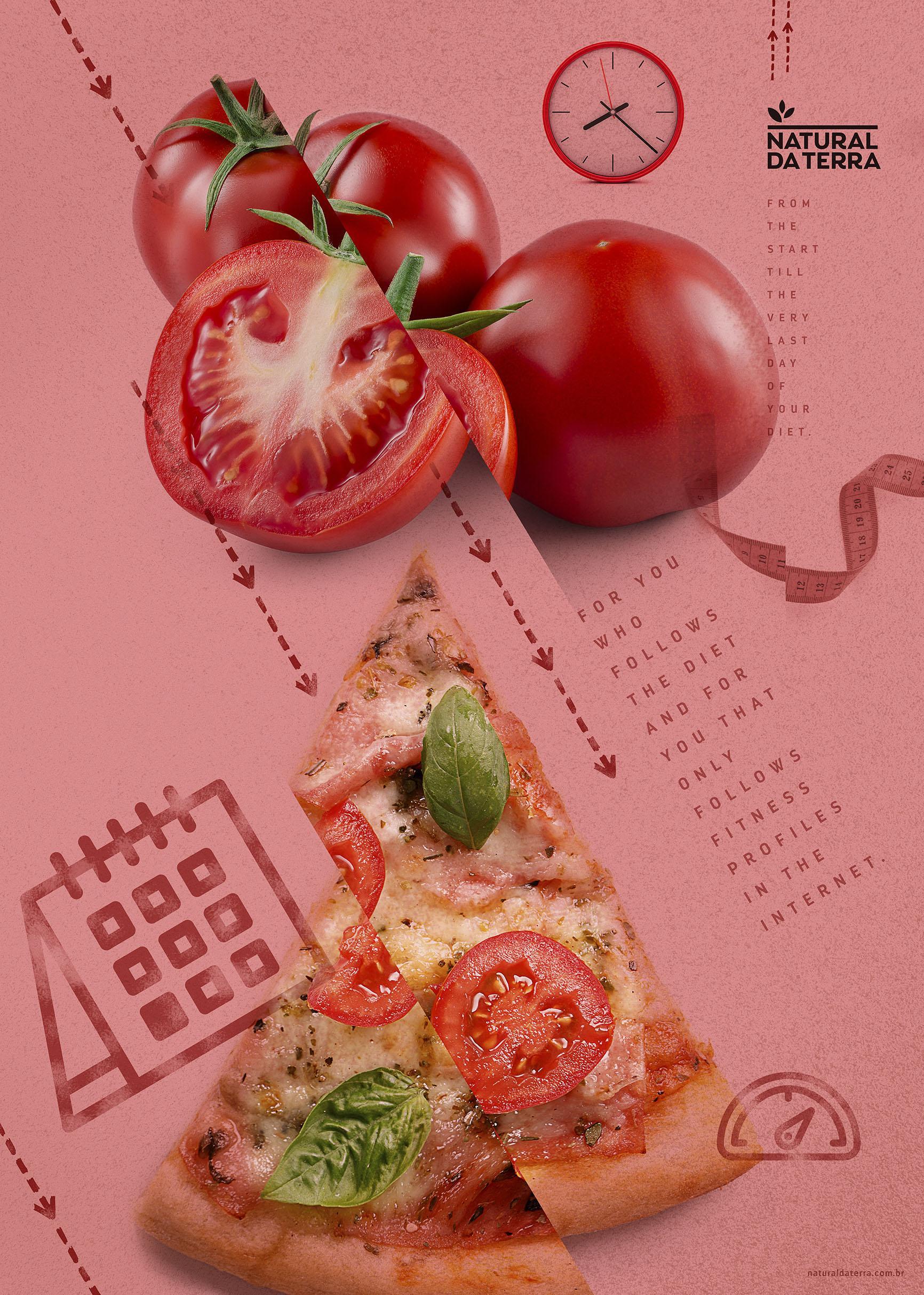 Natural da Terra Print Ad - Diet - Tomato