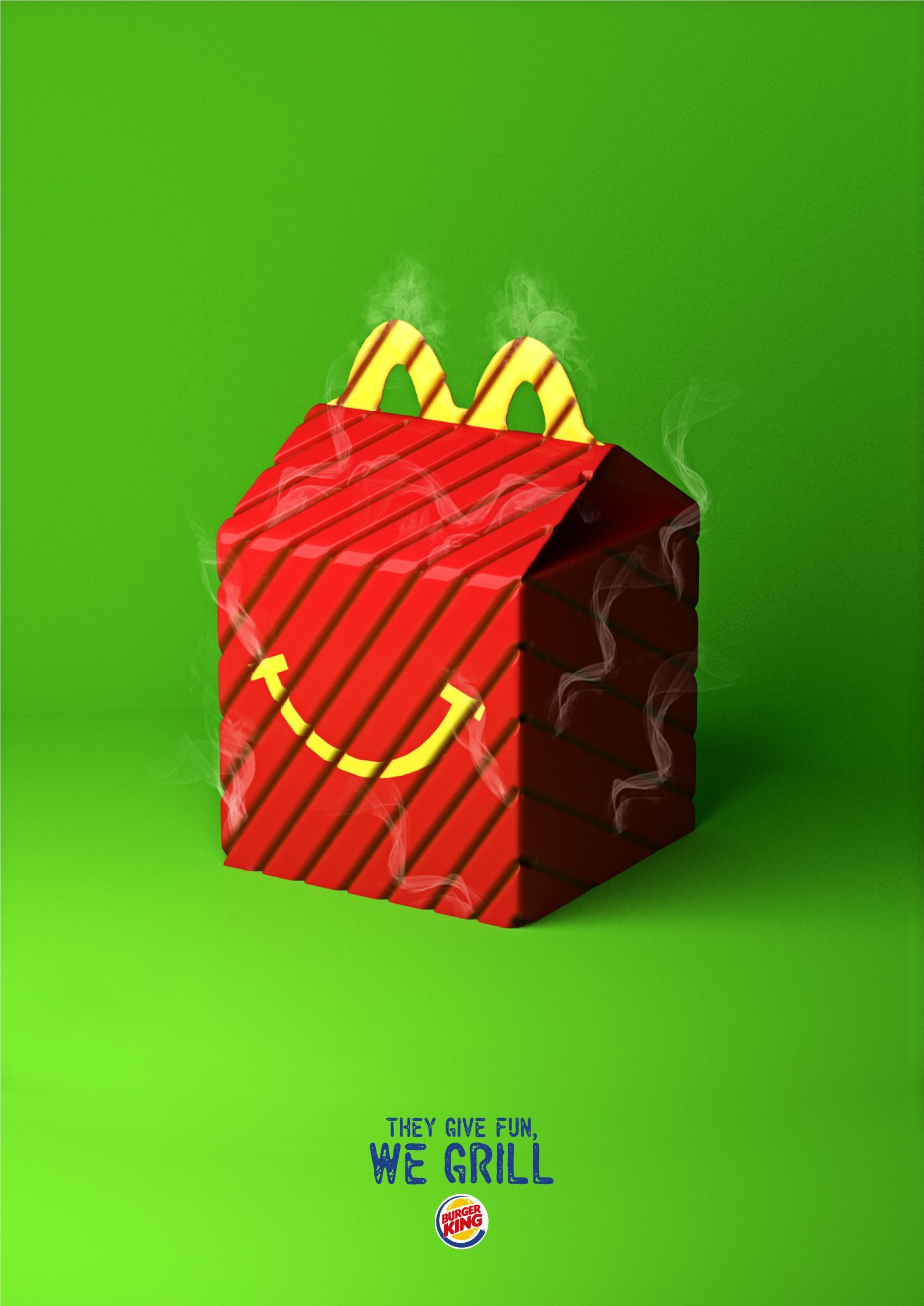 Burger King Print Ad - Friendly Grill, 4