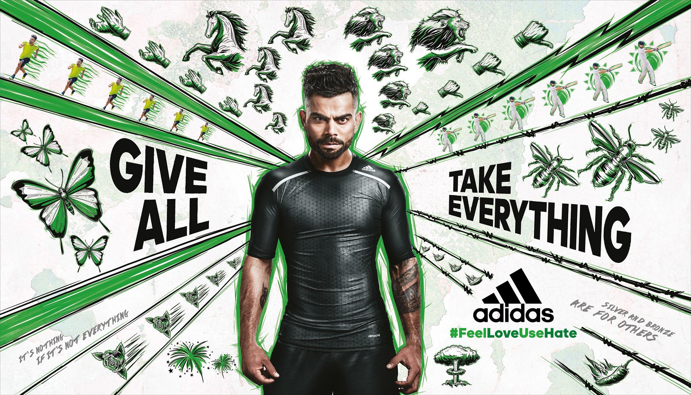 Adidas Print Ad -  Green
