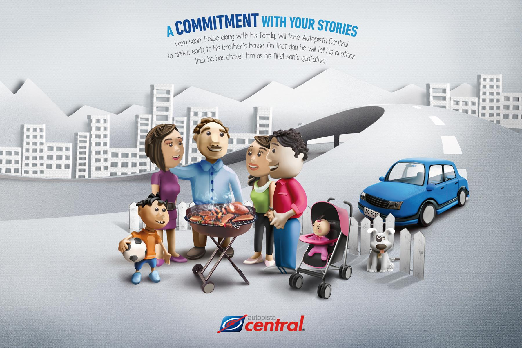 Autopista Central Print Ad -  Godfather