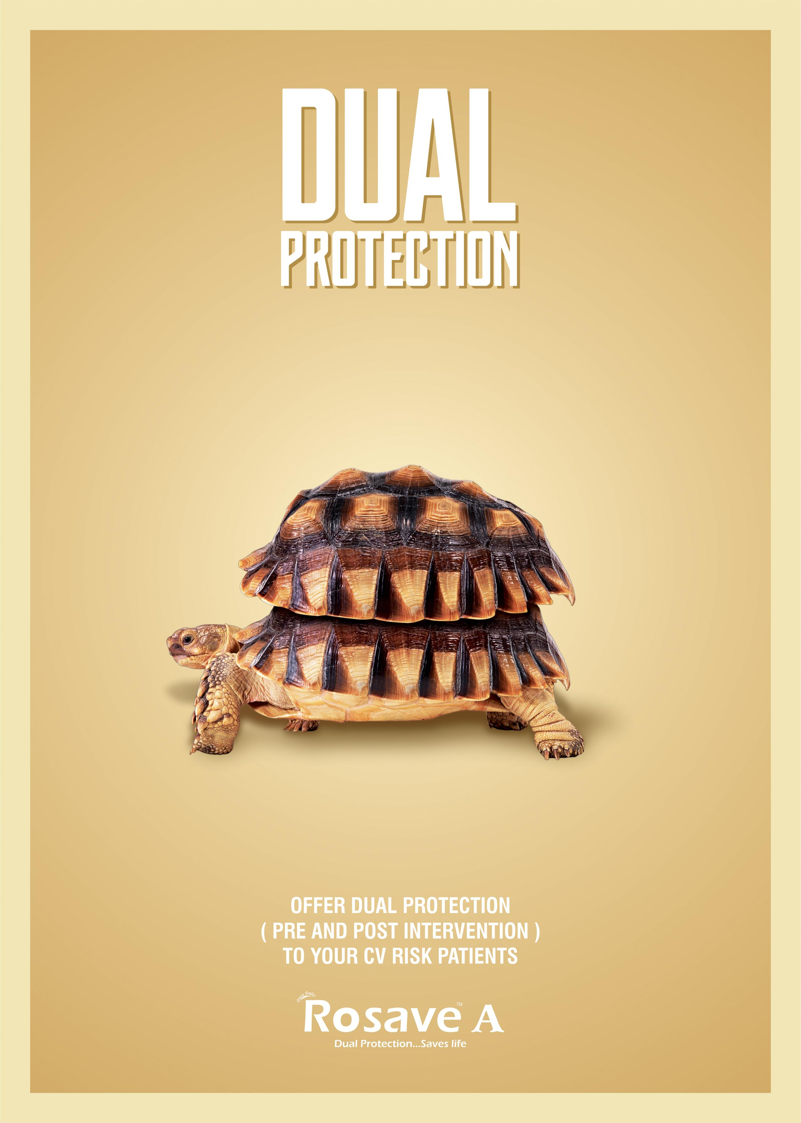 Rosave A Print Ad - Dual Protection , 2
