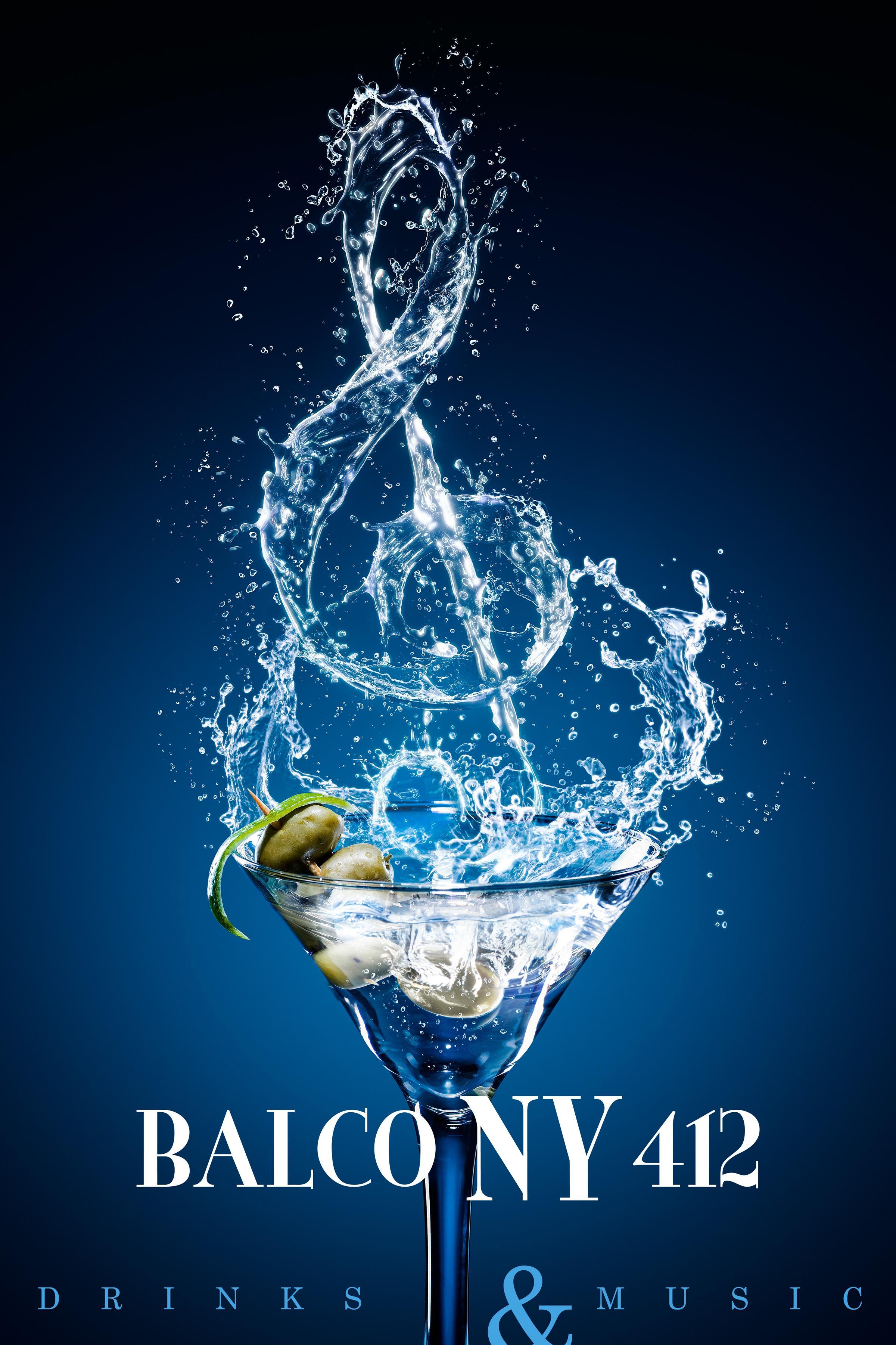 BalcoNY 412 Print Ad - Drinks & Music, 2