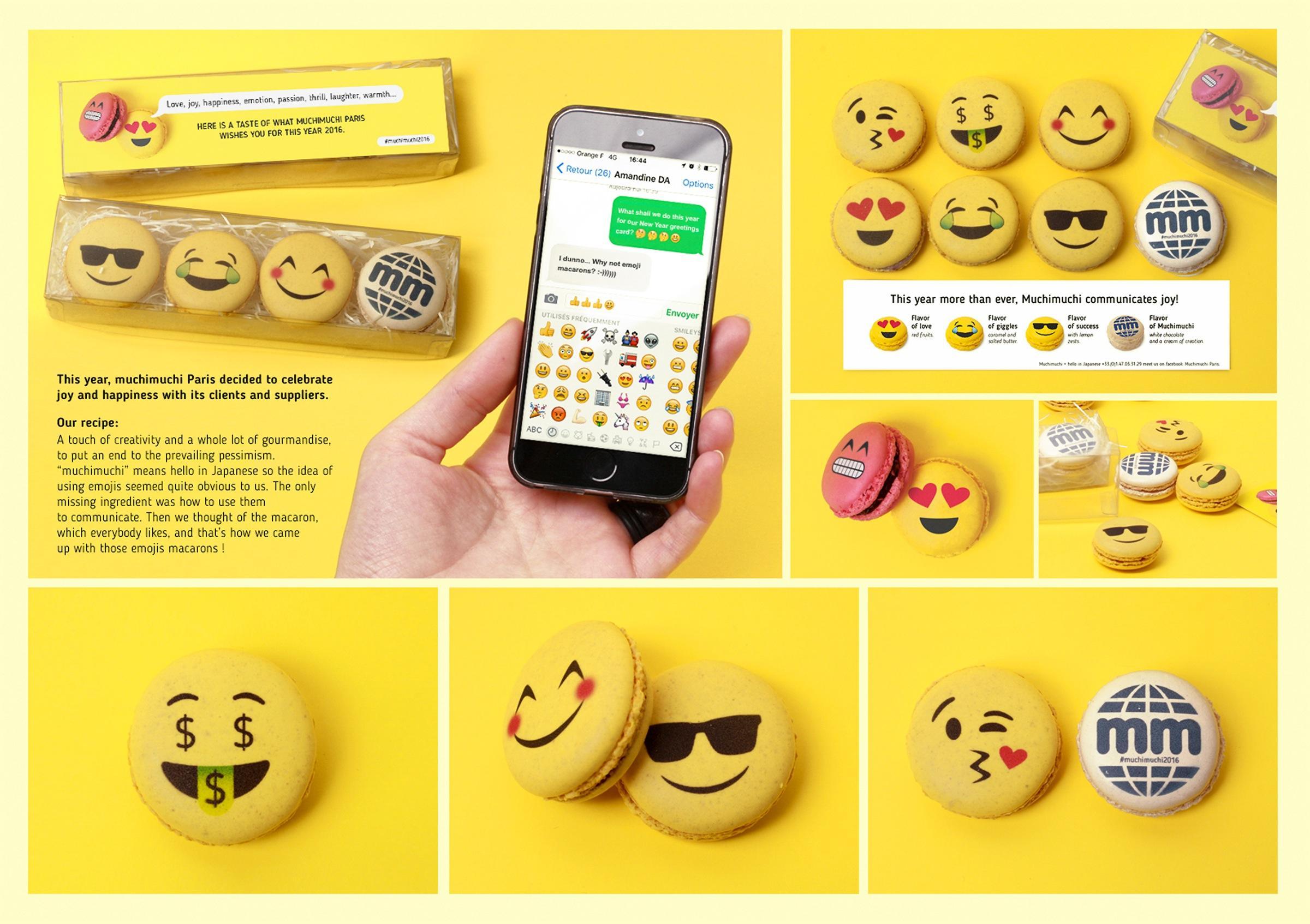 Muchimuchi Direct Ad -  muchimuchi communicates joy