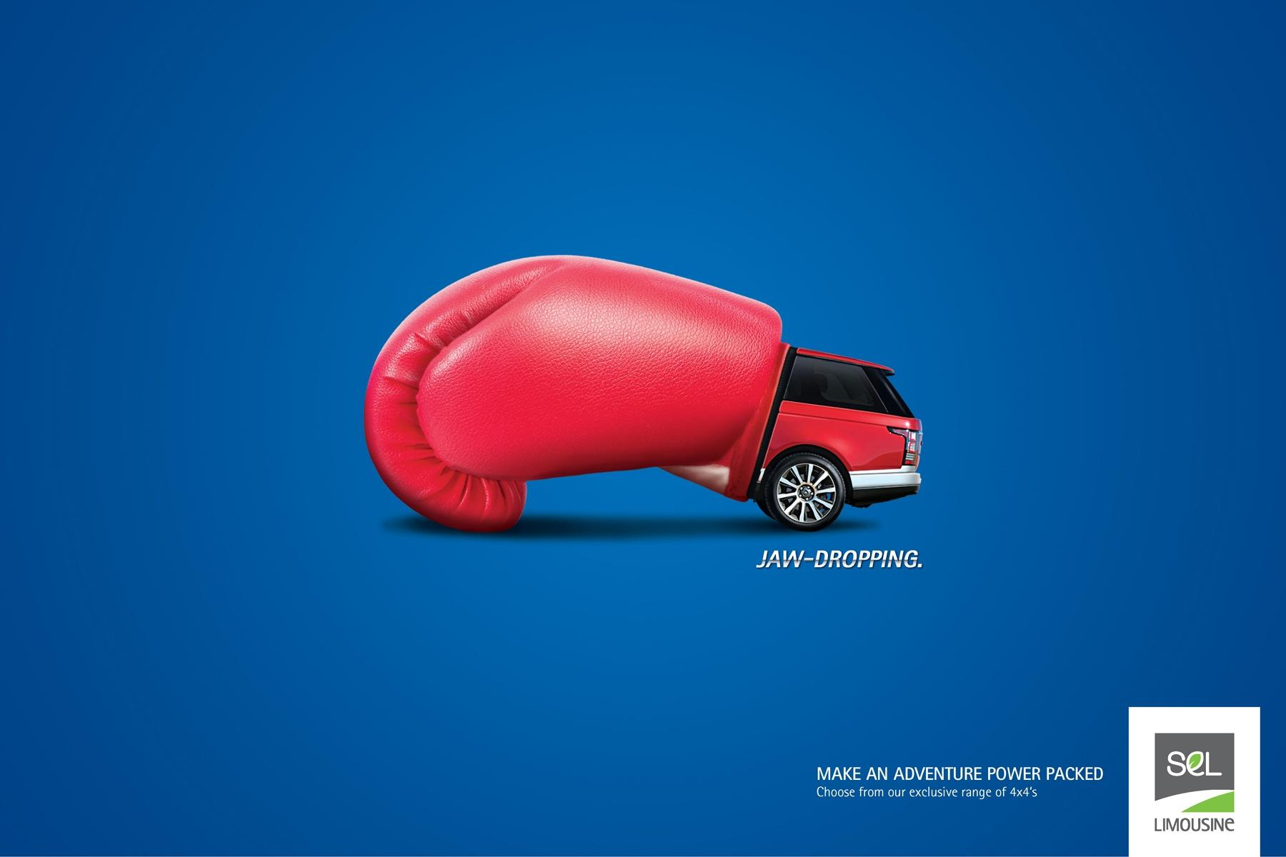 SEL Limousine Print Ad -  Adventure Seeker