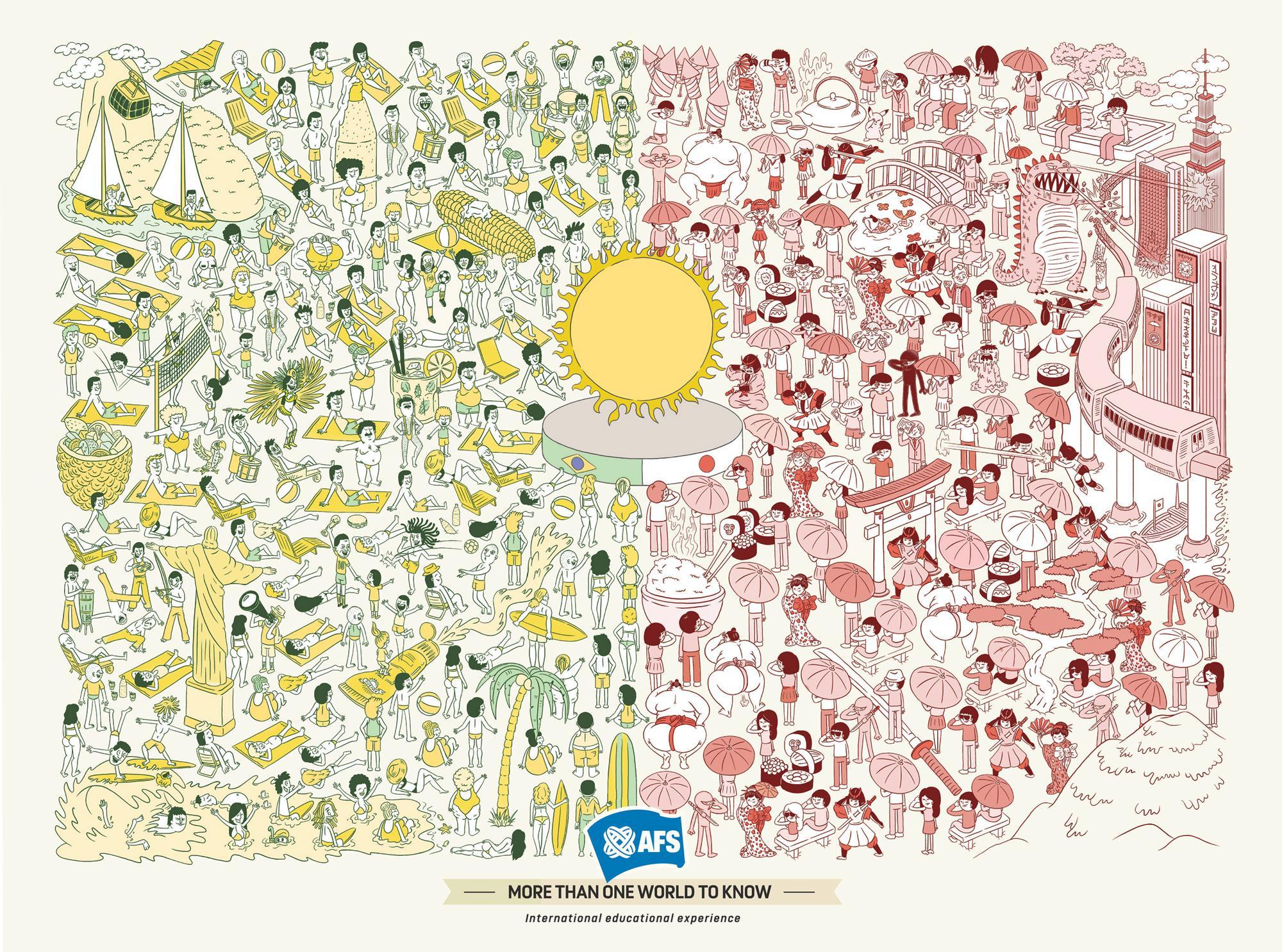 AFS Print Ad -  Sun