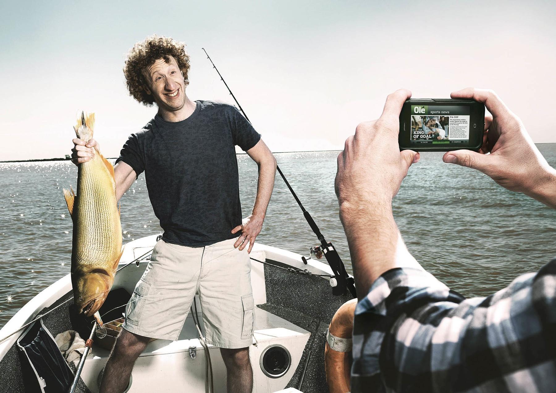 Olé Print Ad -  Fish