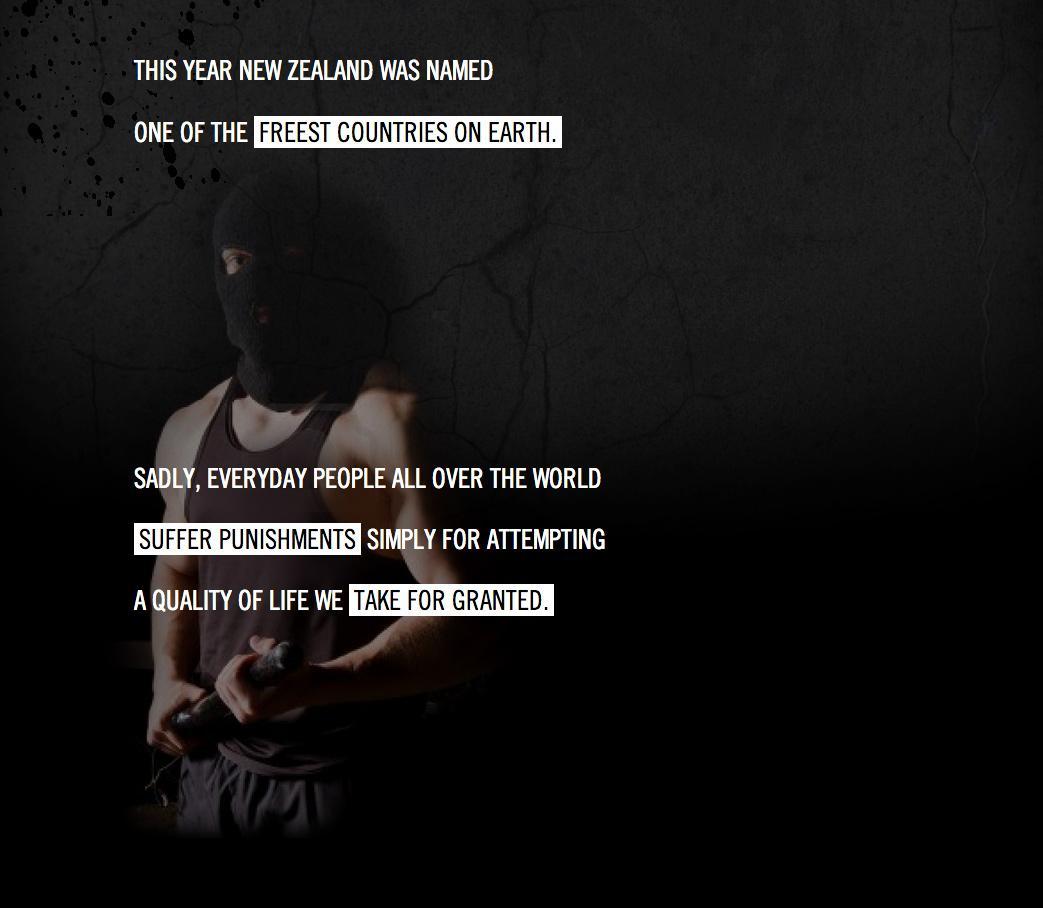 Amnesty International Digital Ad -  Trial by Timeline