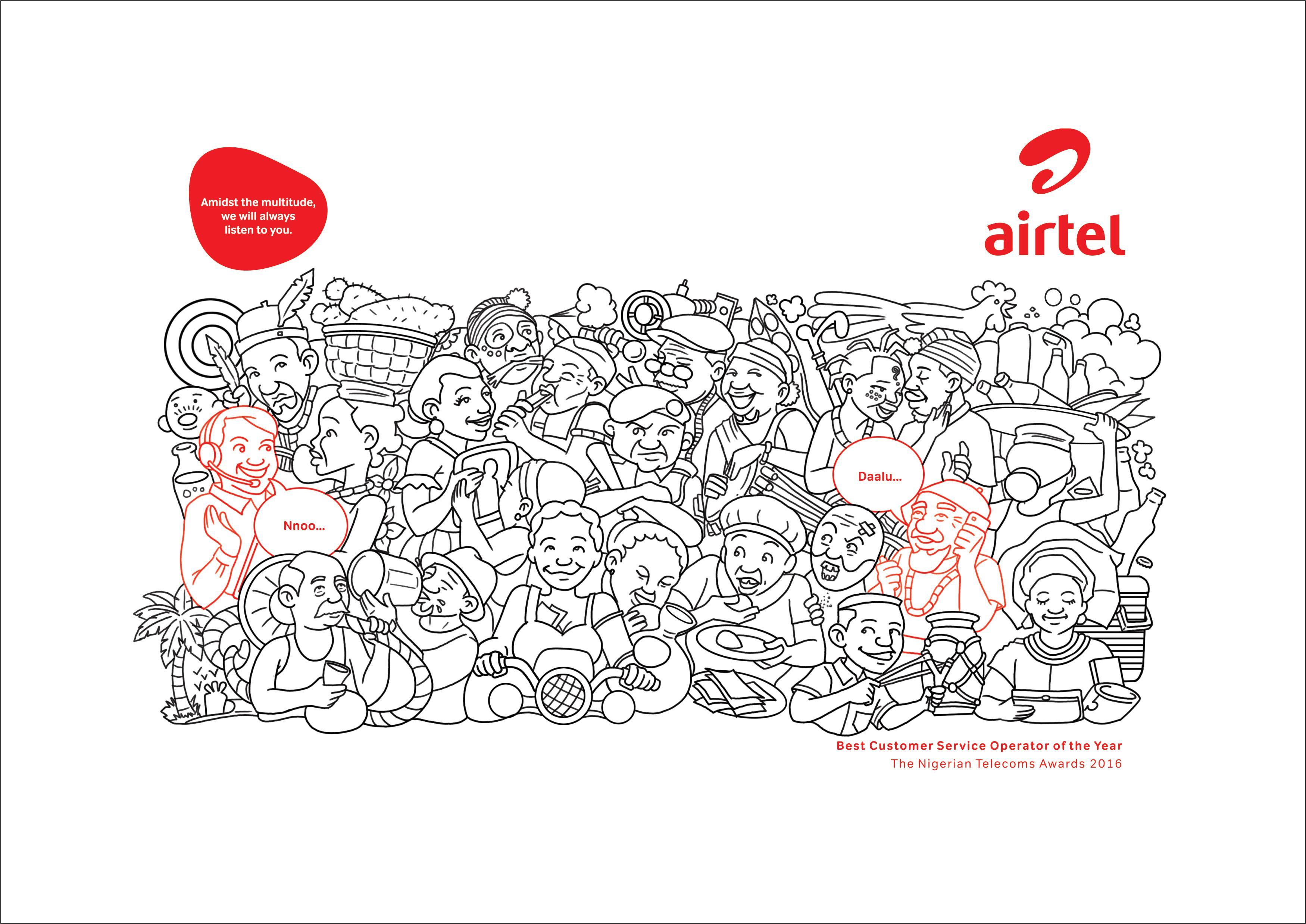 Airtel Print Ad - Easterners
