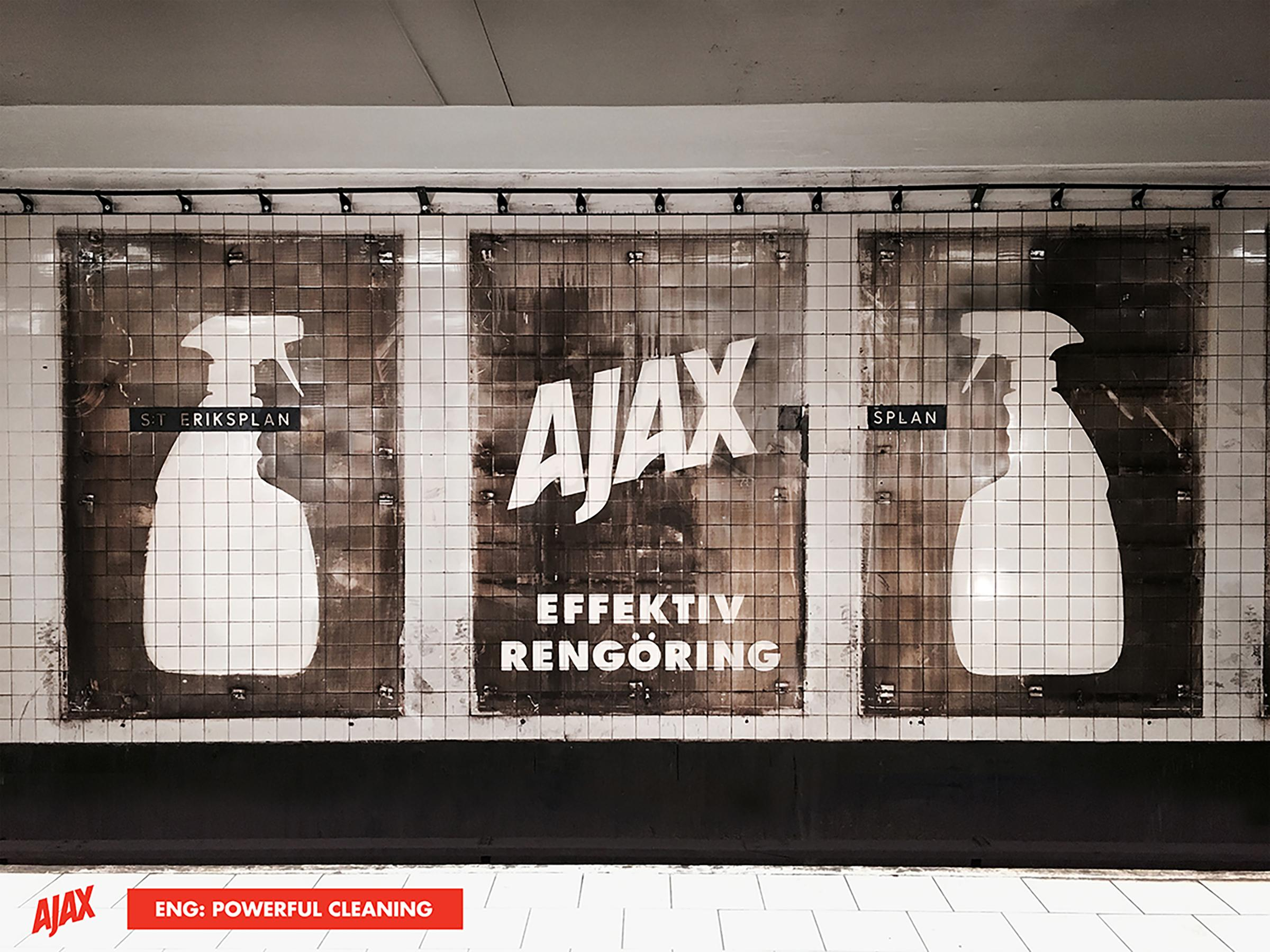 Ajax Ambient Ad - Stronger Than Dirt