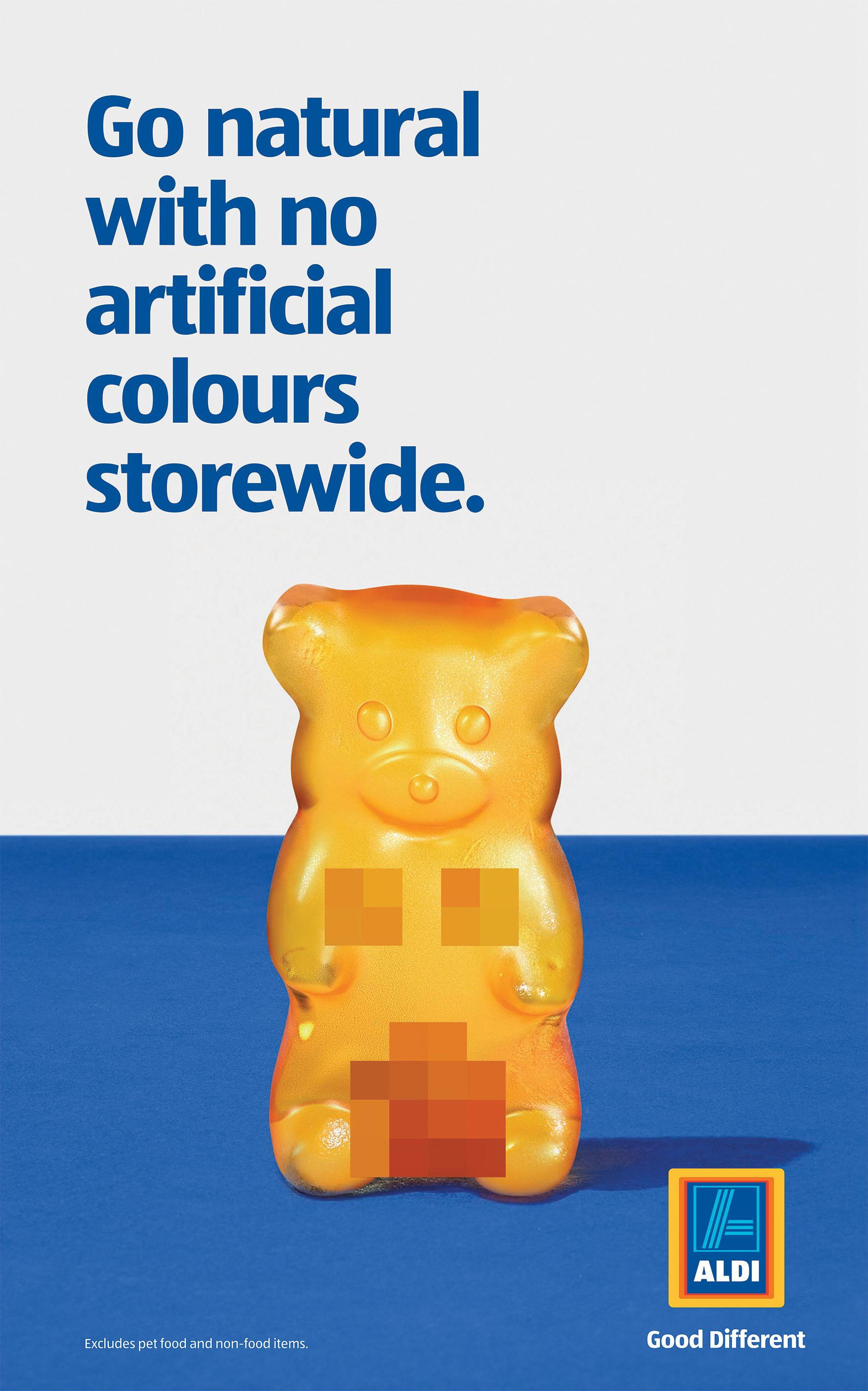ALDI Print Ad - Jelly Bear