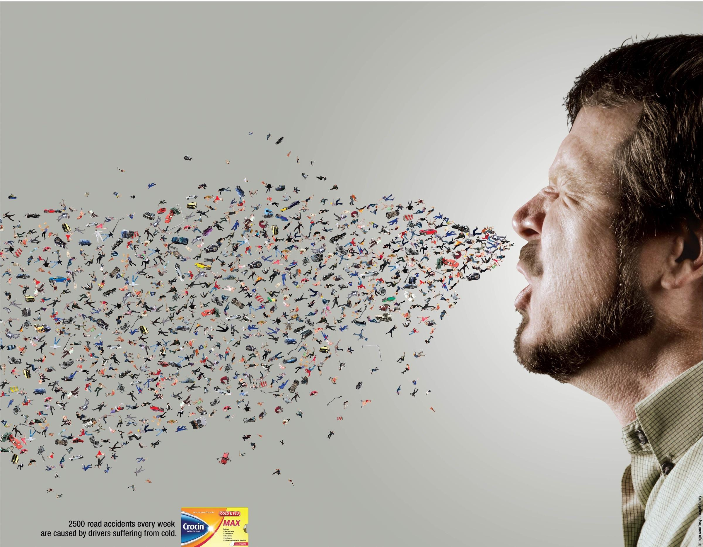 Crocin Print Ad -  Sneeze