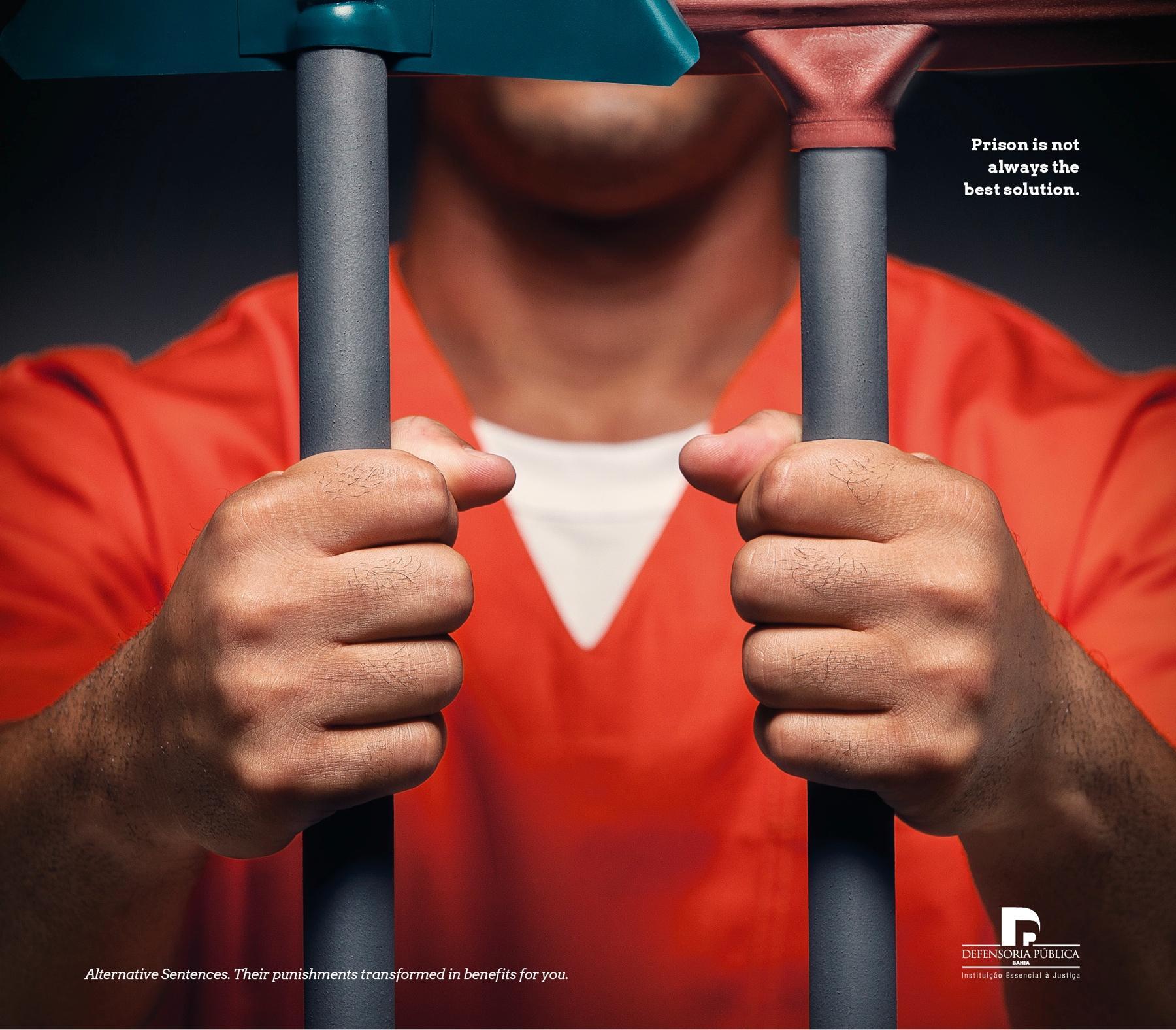 Defensoria Pública do Estado da Bahia Print Ad -  Alternative Sentences