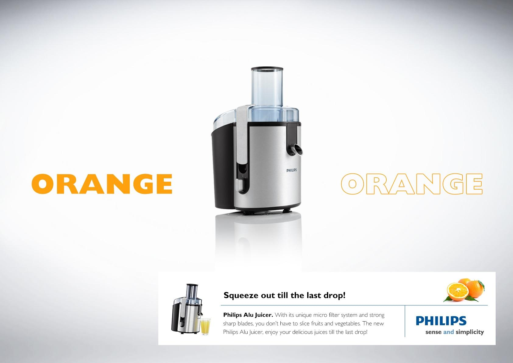 Philips Print Ad -  Orange