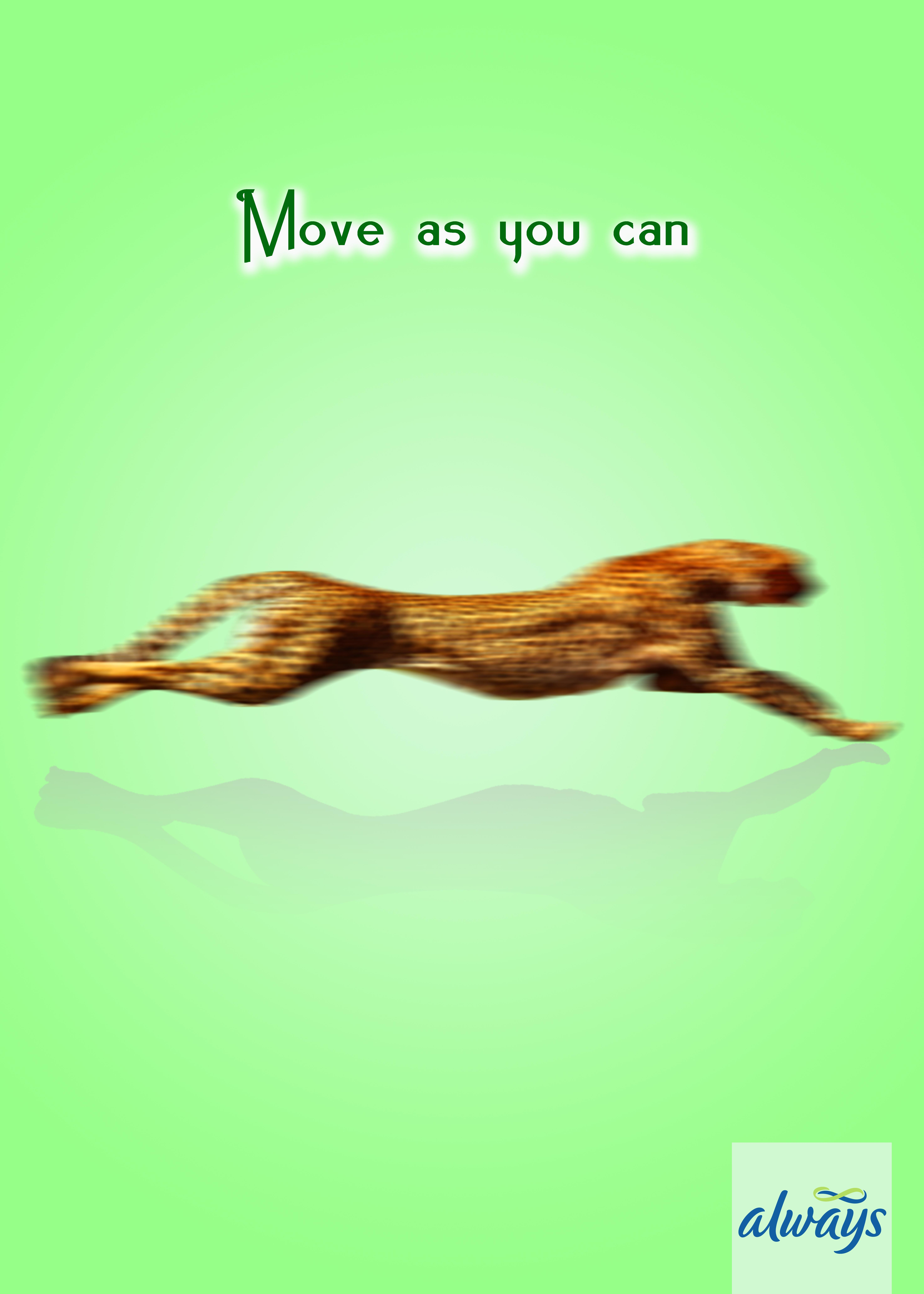 Always Print Ad - Move as You Can, 2