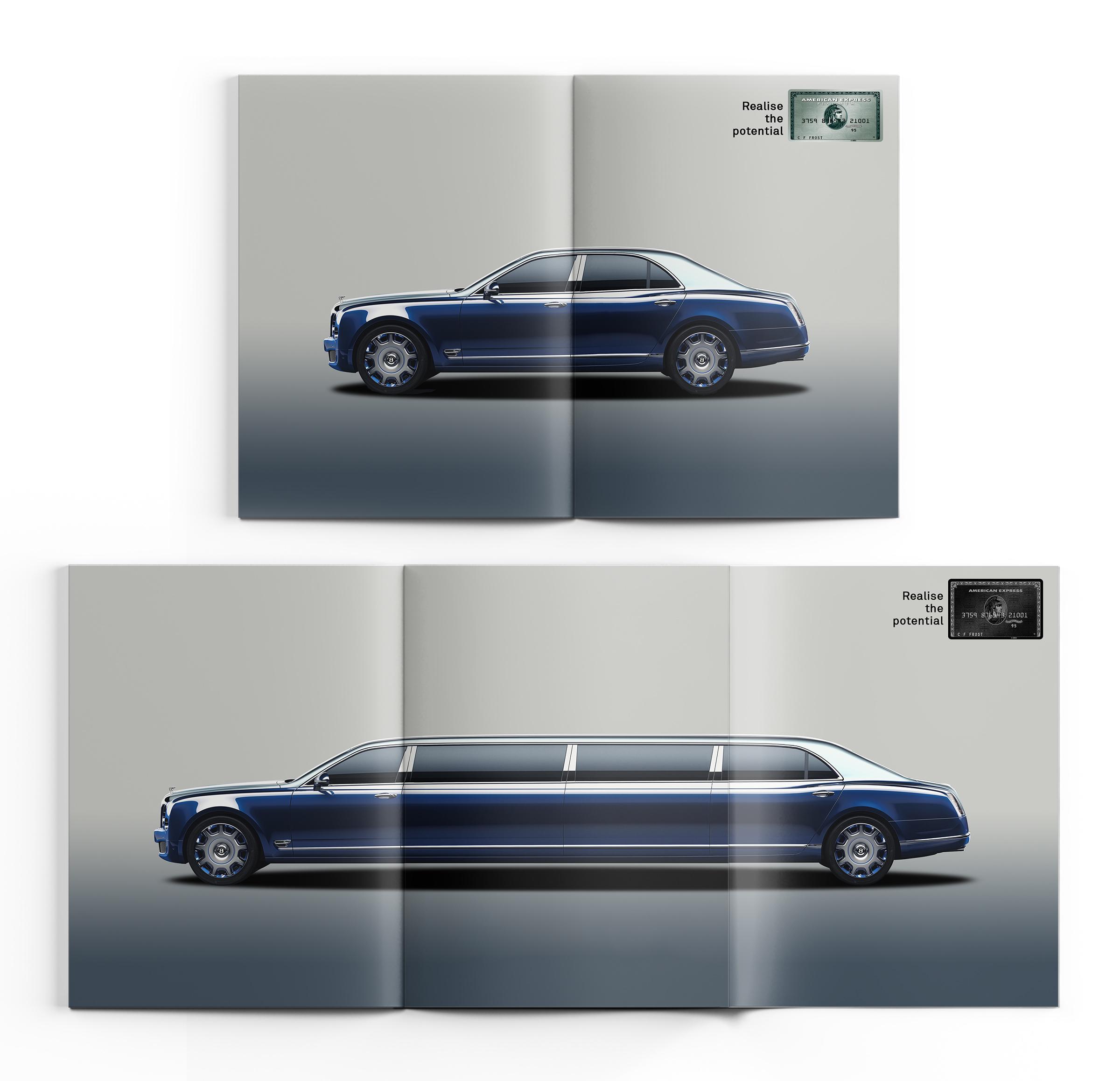 American Express Print Ad - Amex Black