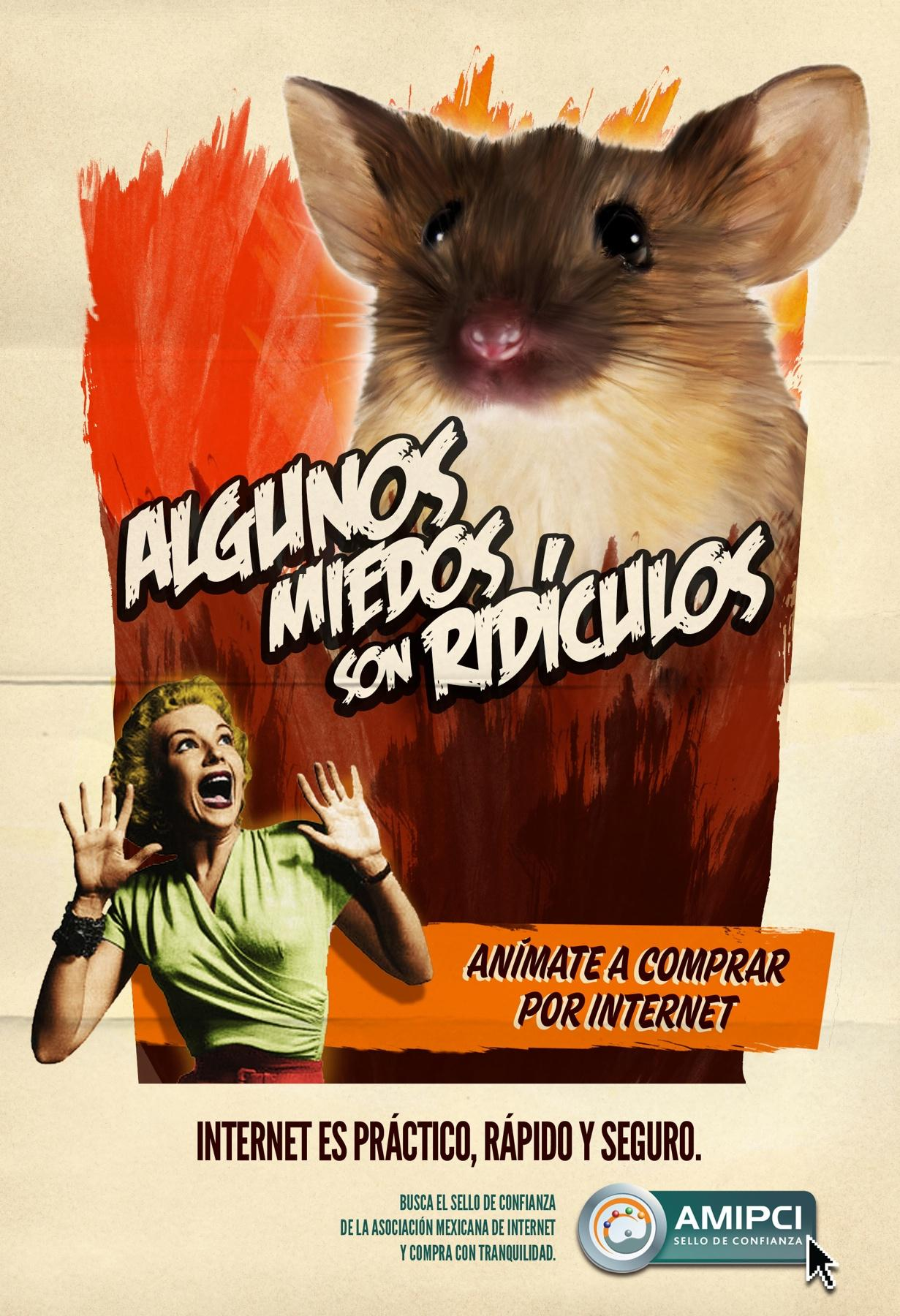 Mexican Internet Association Print Ad -  Ridiculous Fears, 1