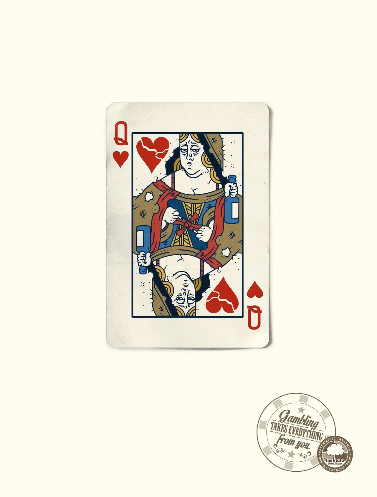 Quatro Estacoes Print Ad -  Queen