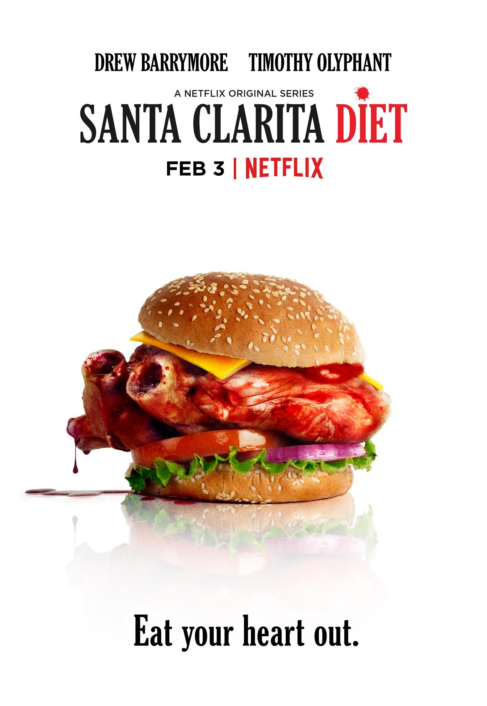 Santa Clarita Diet Outdoor Ad - Eat your heart out