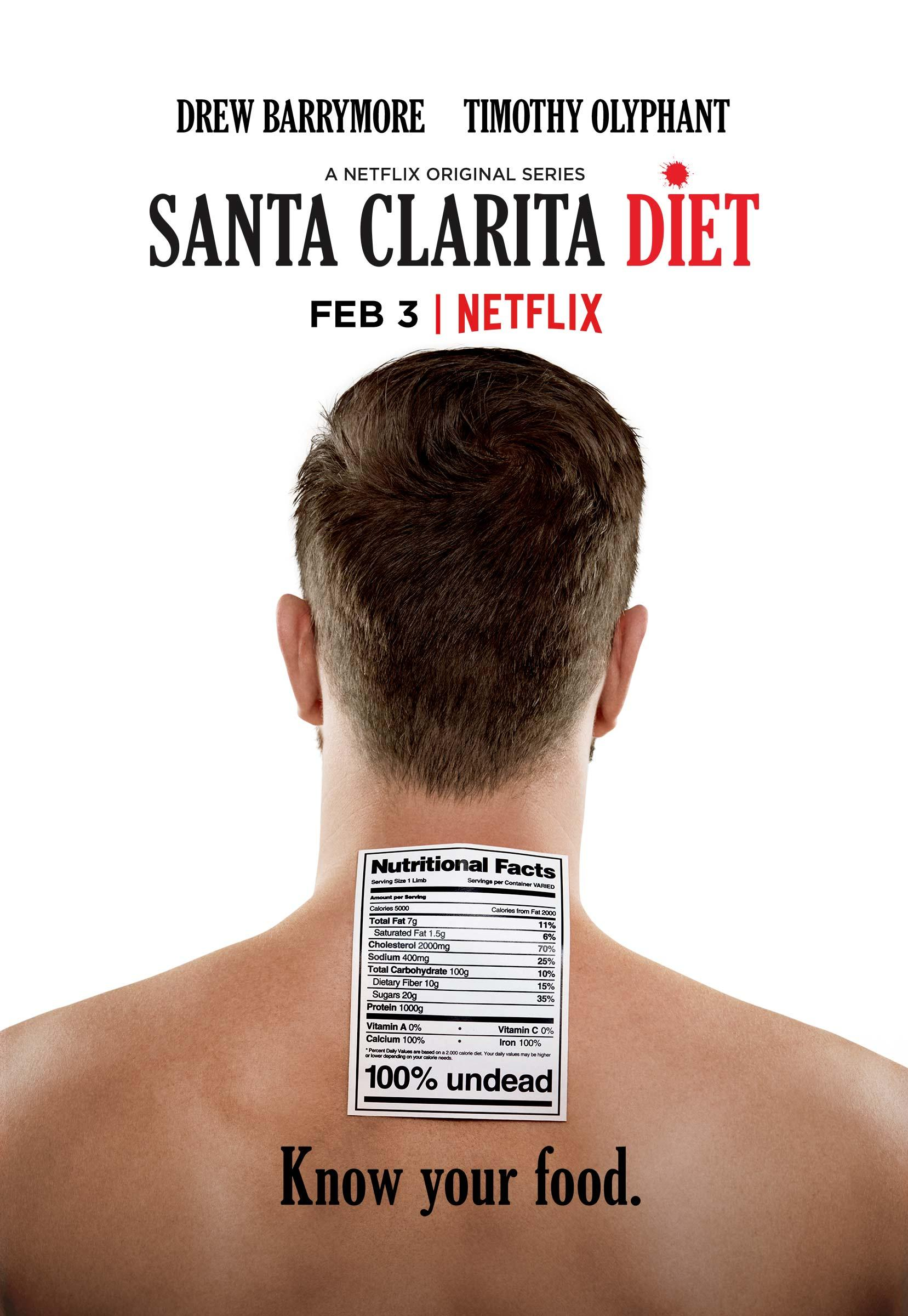 Santa Clarita Diet Outdoor Ad - Know your food
